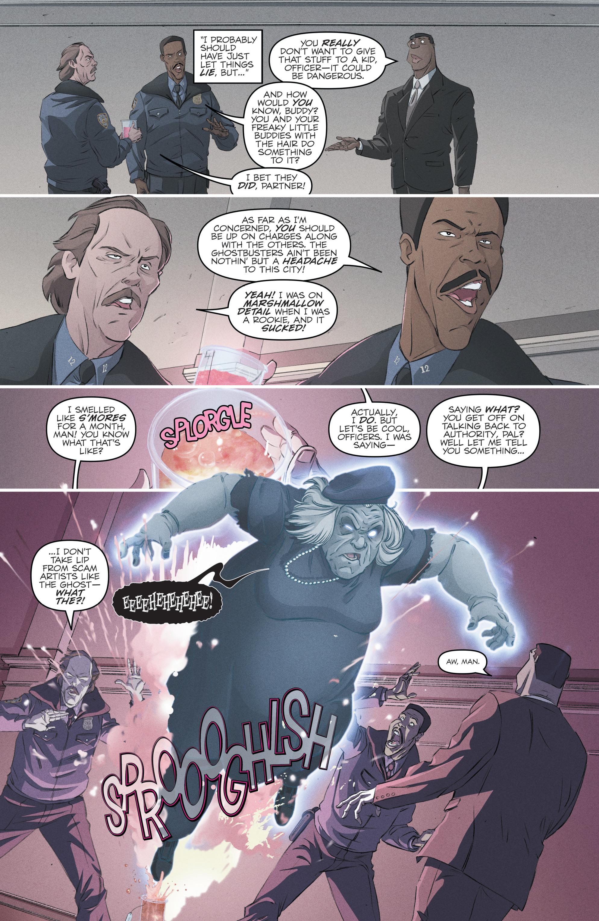 Read online Batman/Teenage Mutant Ninja Turtles Adventure comic -  Issue #4 - 28