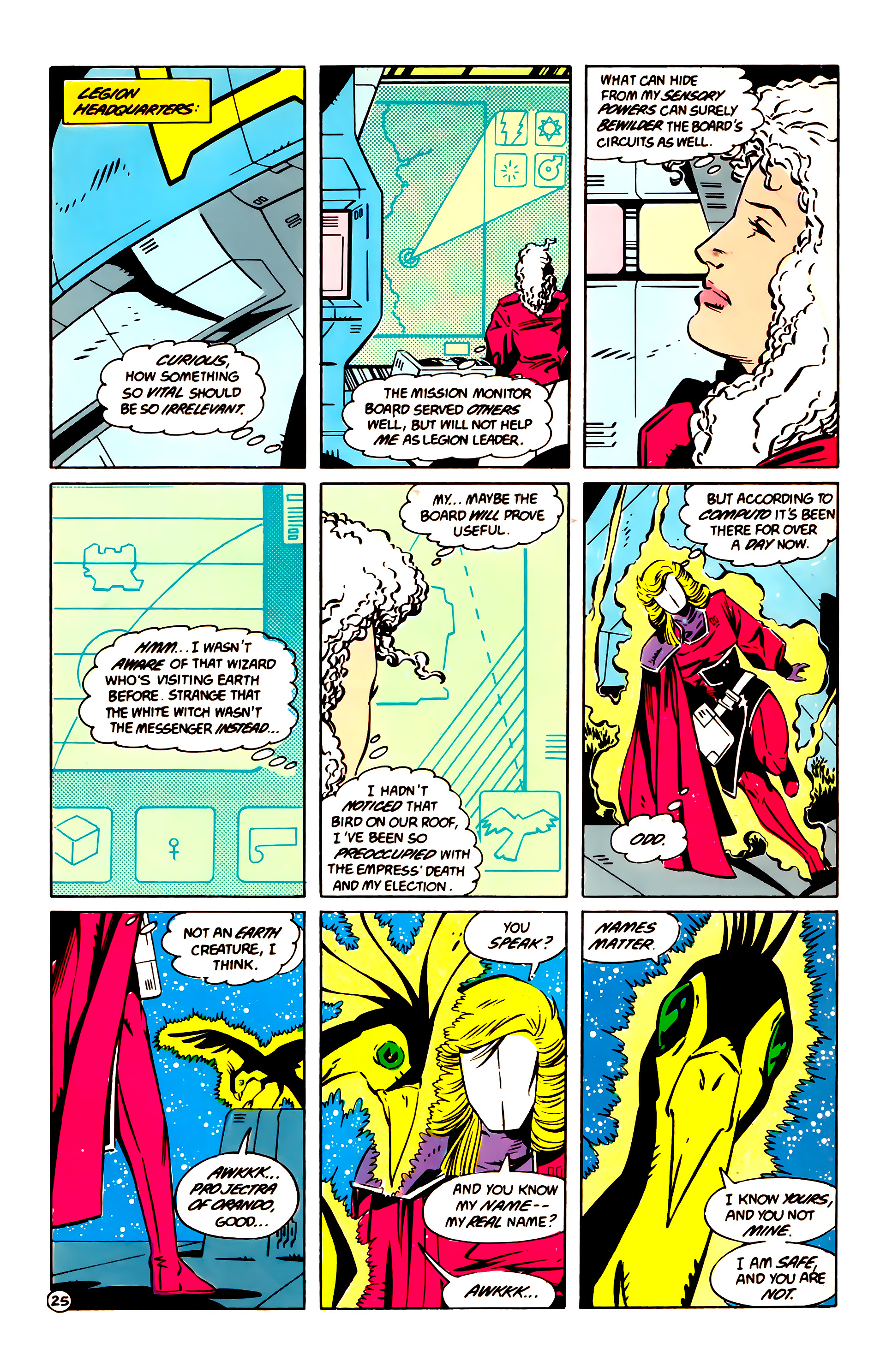 Legion of Super-Heroes (1984) 60 Page 25