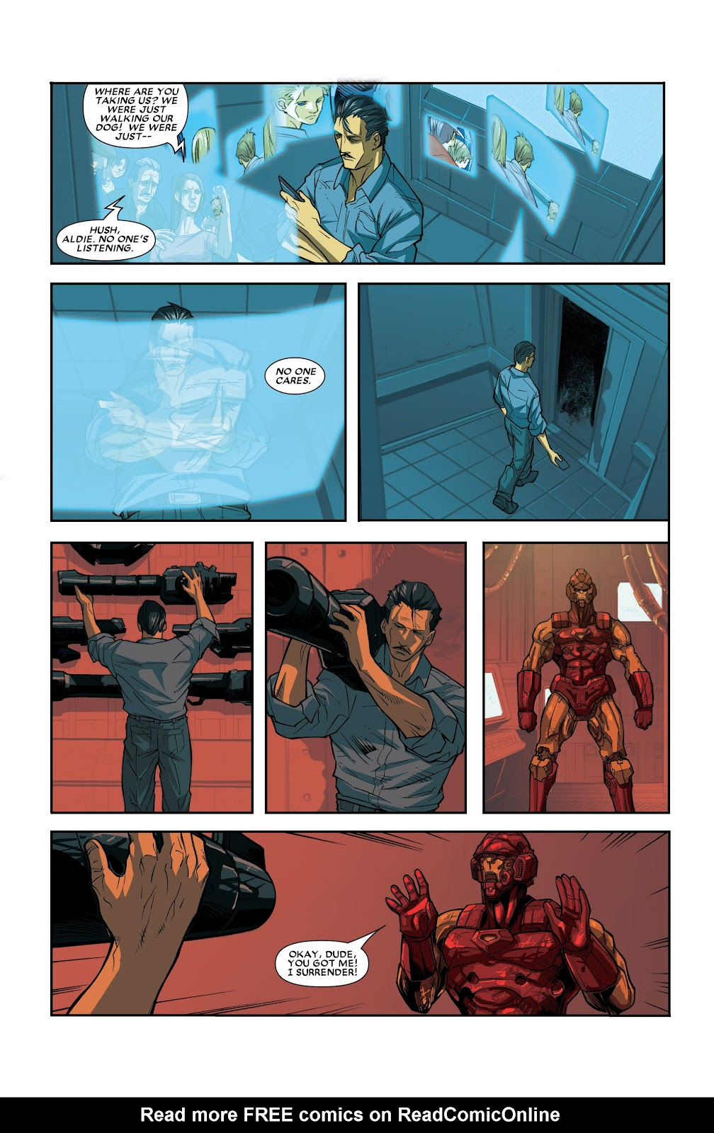 Iron Man: House of M Issue #2 #2 - English 14