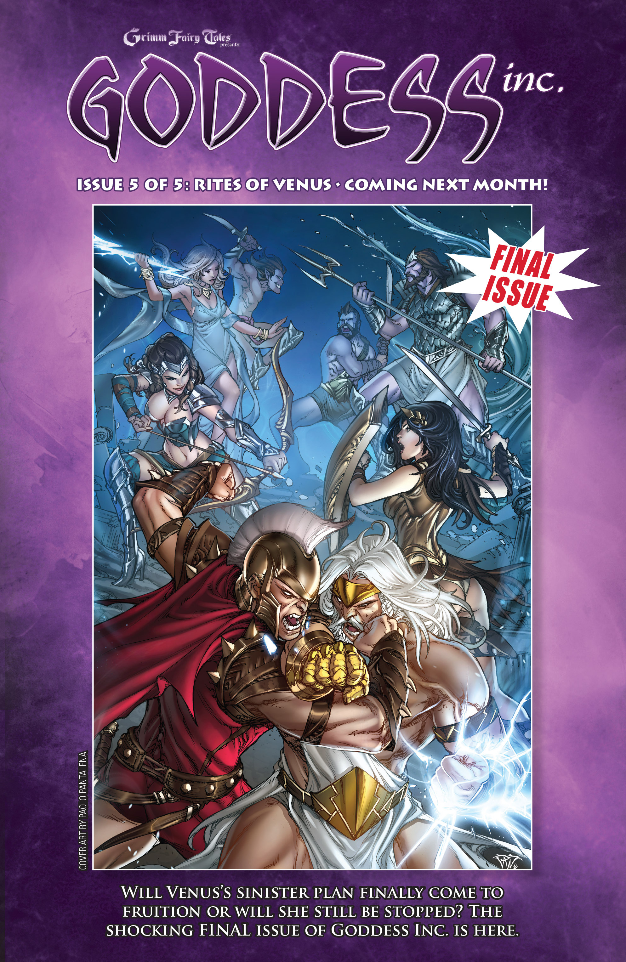 Read online Grimm Fairy Tales presents Goddess Inc. comic -  Issue #4 - 25