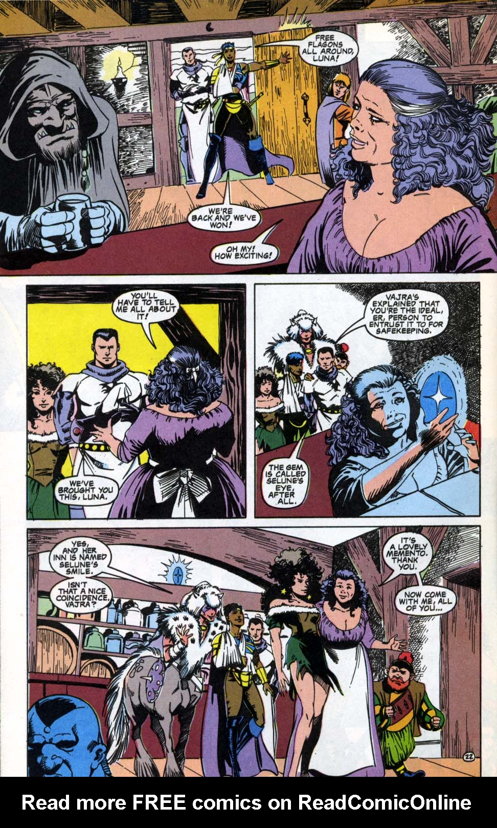 Read online Advanced Dungeons & Dragons comic -  Issue #4 - 22