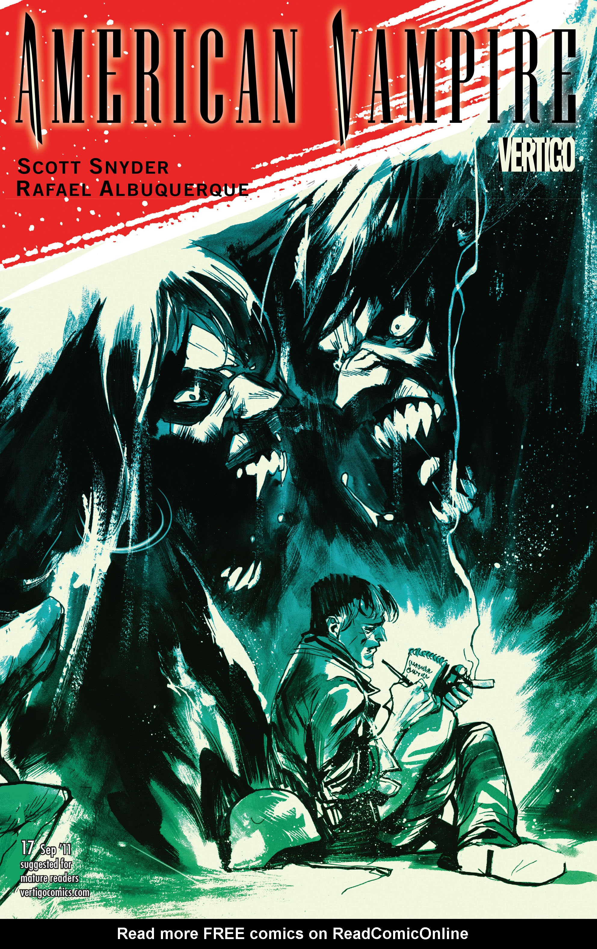 Read online American Vampire comic -  Issue #17 - 1