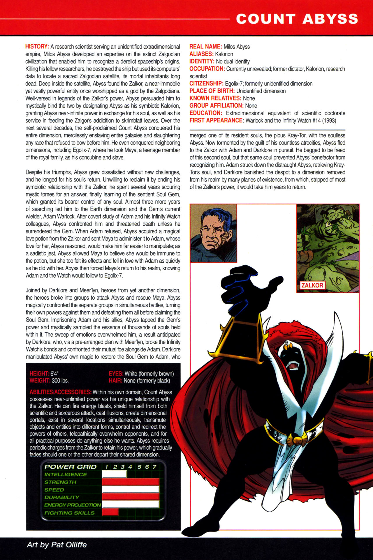 Read online All-New Official Handbook of the Marvel Universe A to Z: Update comic -  Issue #4 - 11