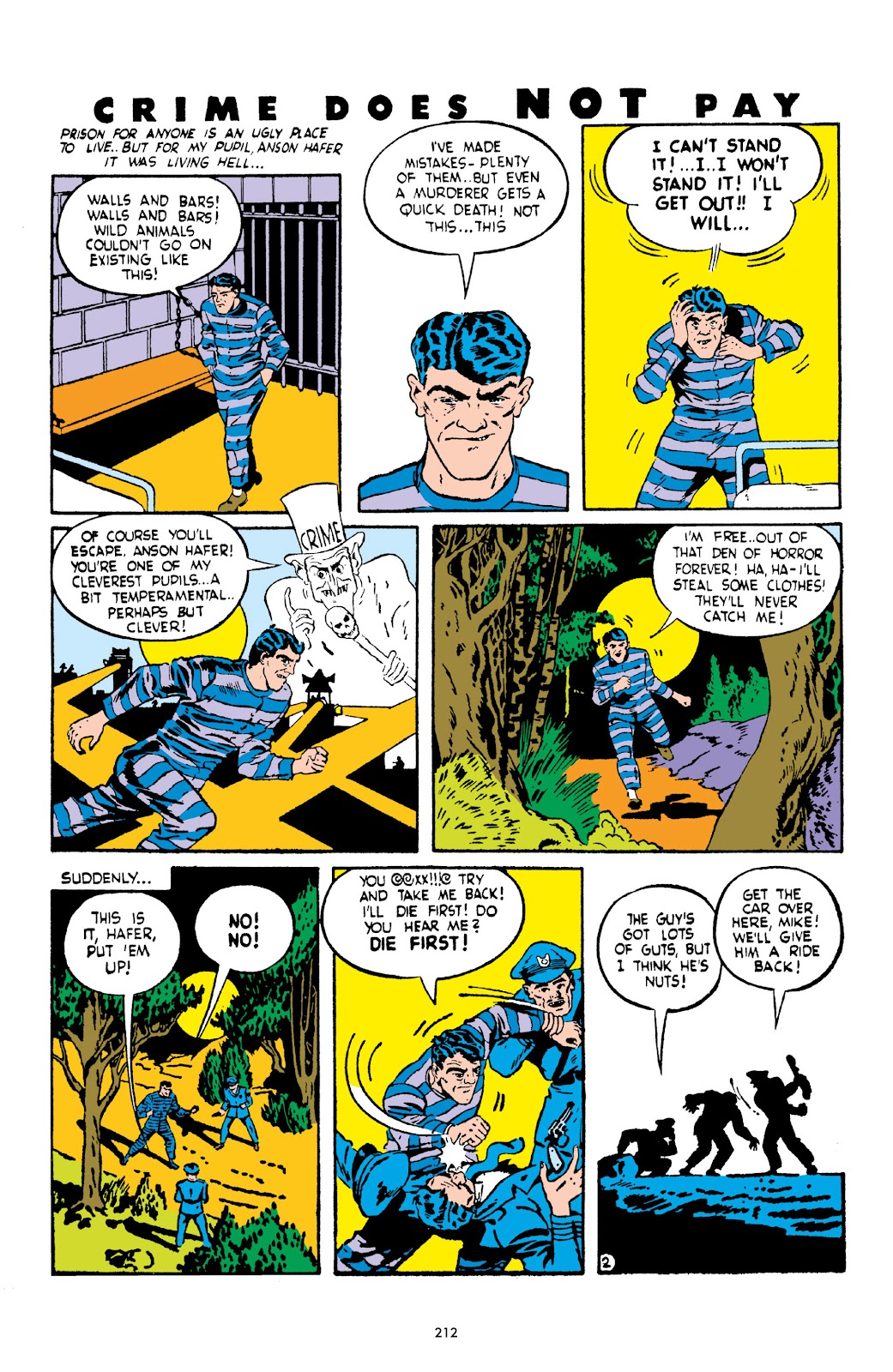 Read online Crime Does Not Pay Archives comic -  Issue # TPB 2 (Part 3) - 12