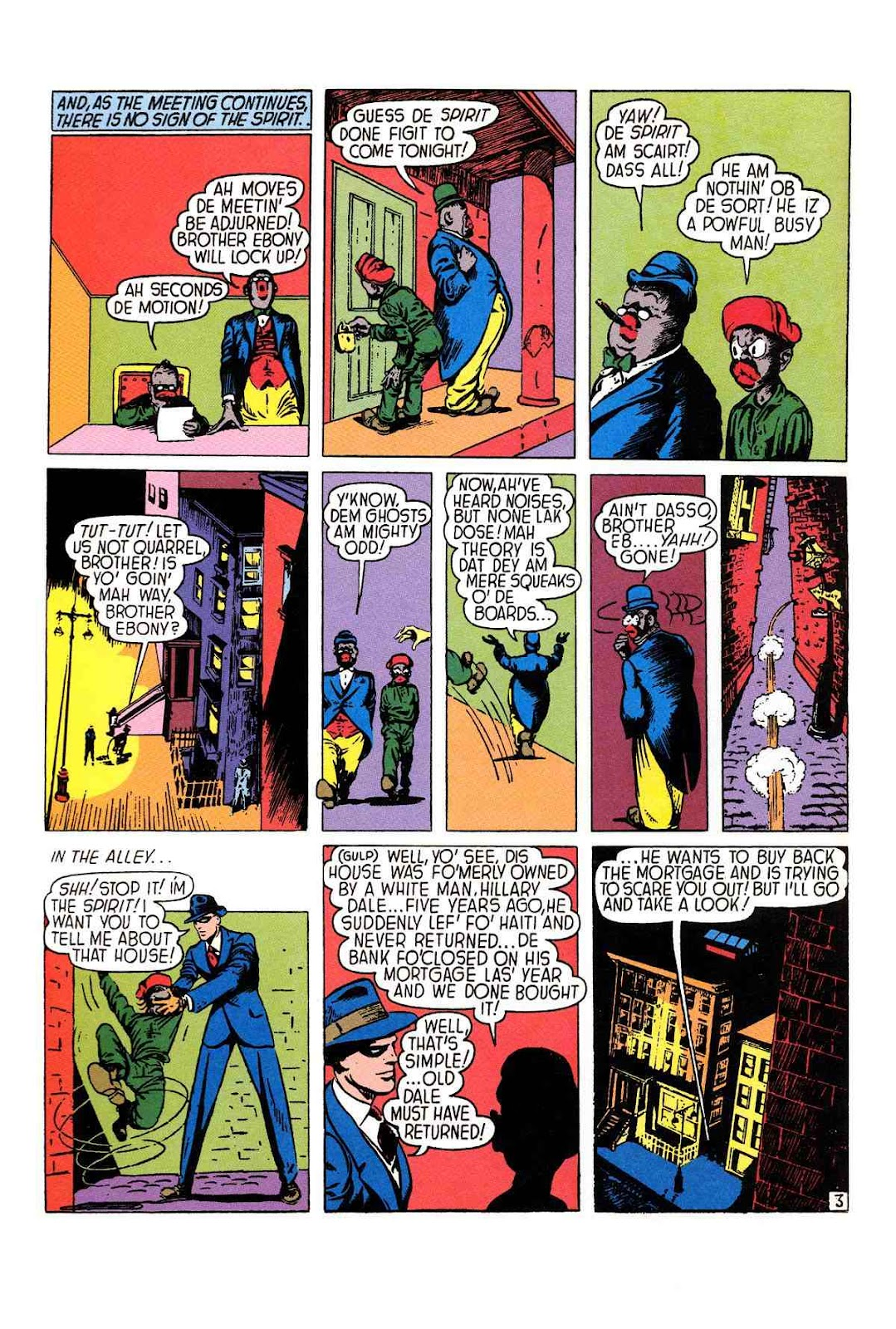 Read online Will Eisner's The Spirit Archives comic -  Issue # TPB 1 (Part 1) - 25