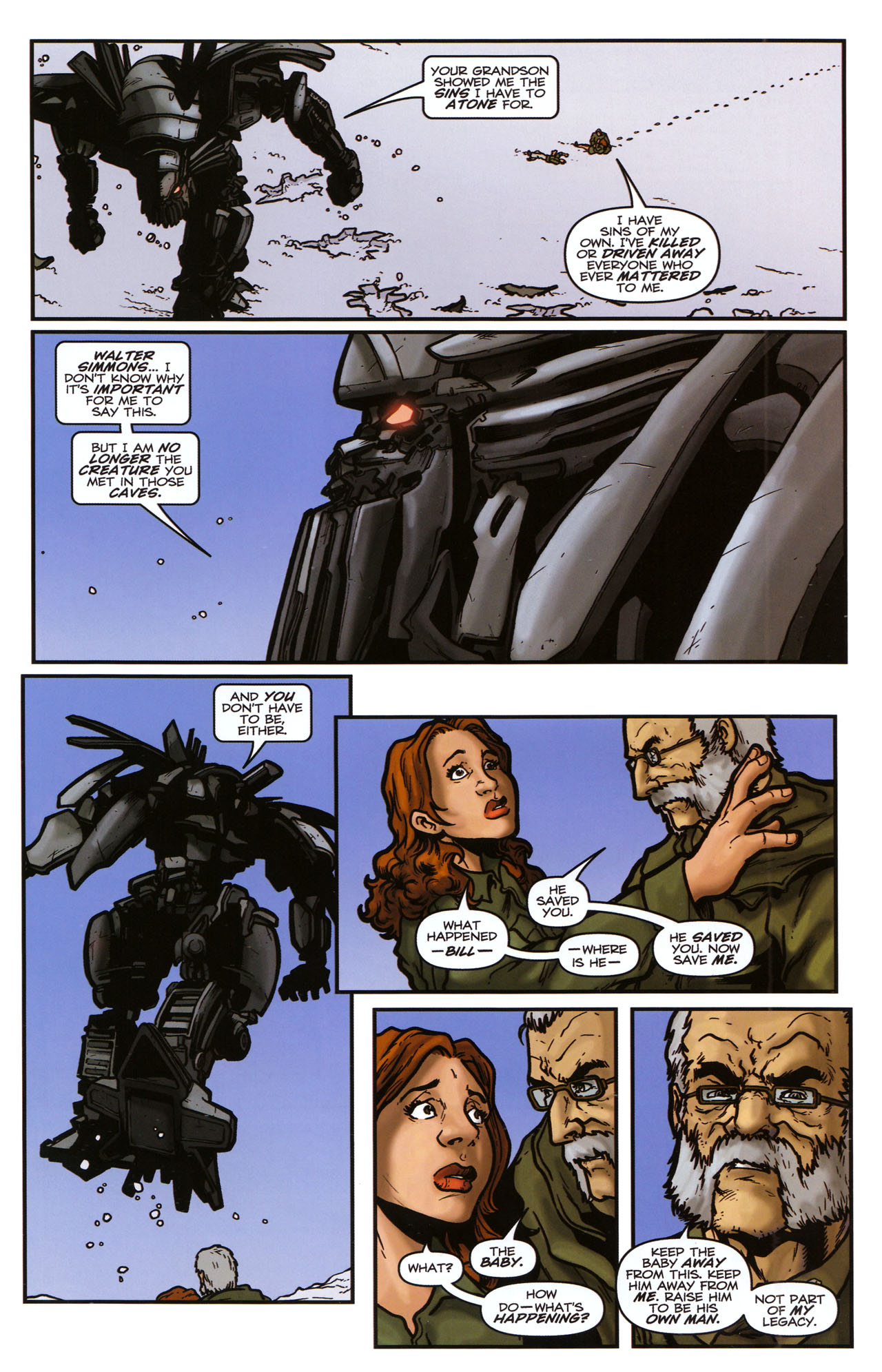 Read online Transformers: Sector 7 comic -  Issue #5 - 22