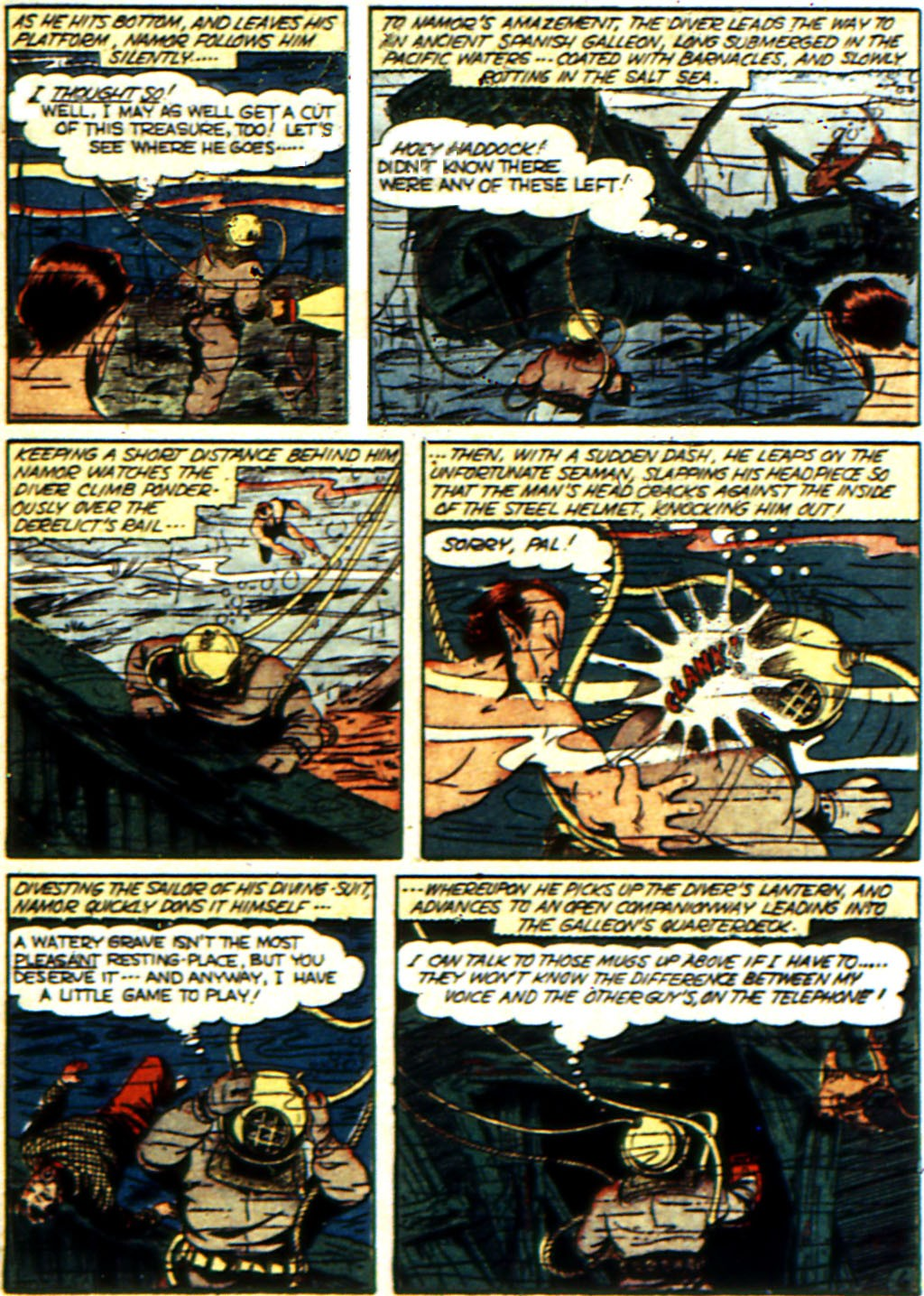 Read online All-Winners Comics comic -  Issue #3 - 48