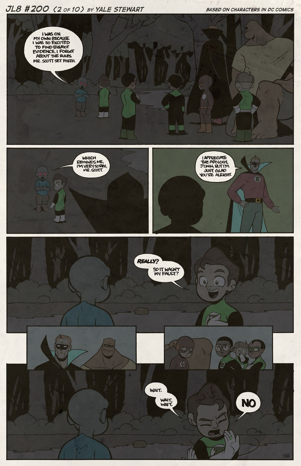 Read online JL8 – The Complete Collection comic -  Issue # TPB (Part 2) - 25