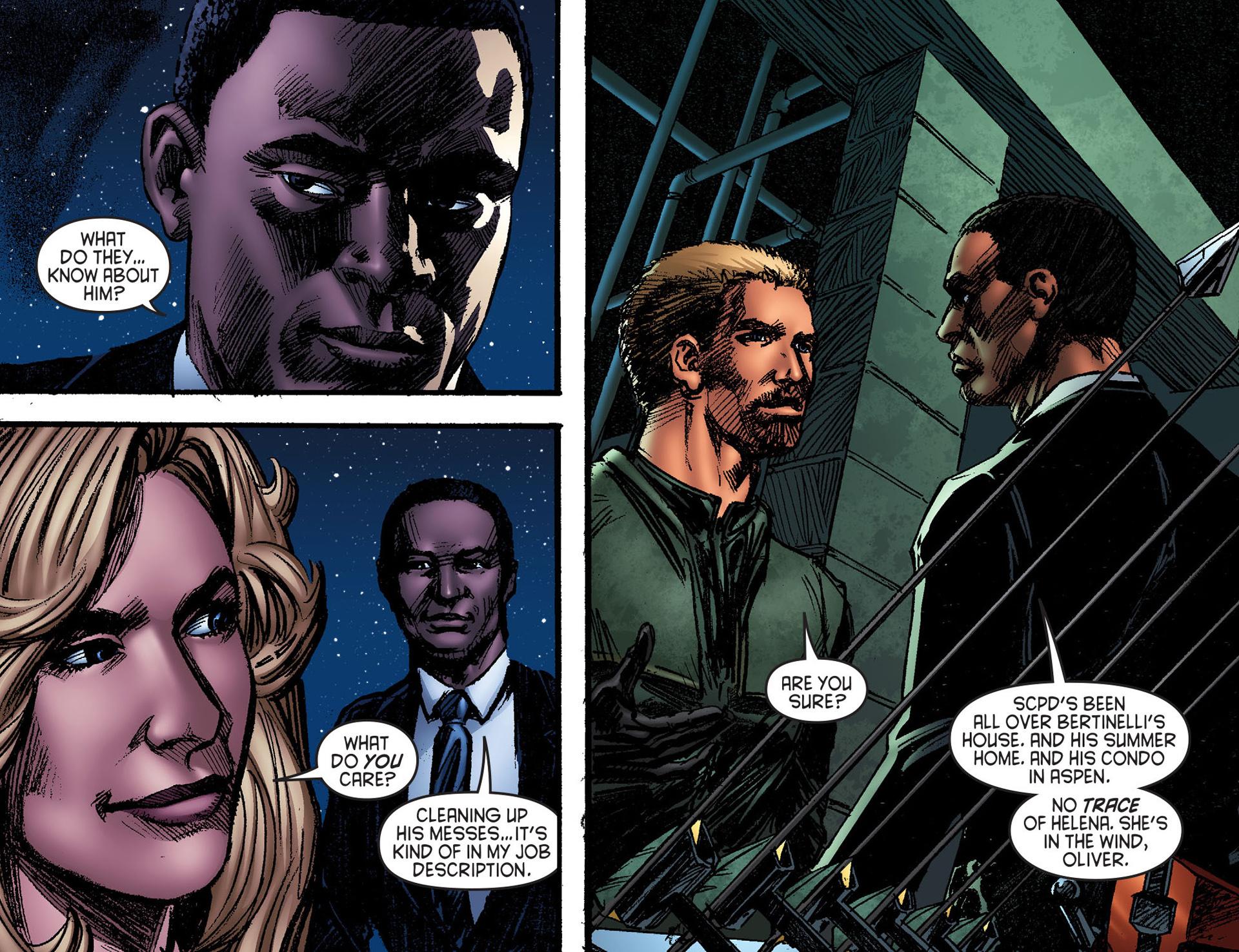 Read online Arrow [II] comic -  Issue #25 - 12
