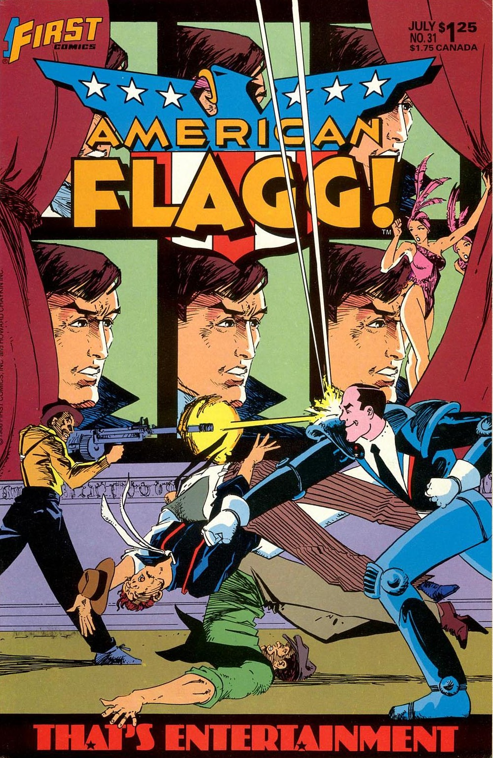 American Flagg! 31 Page 1