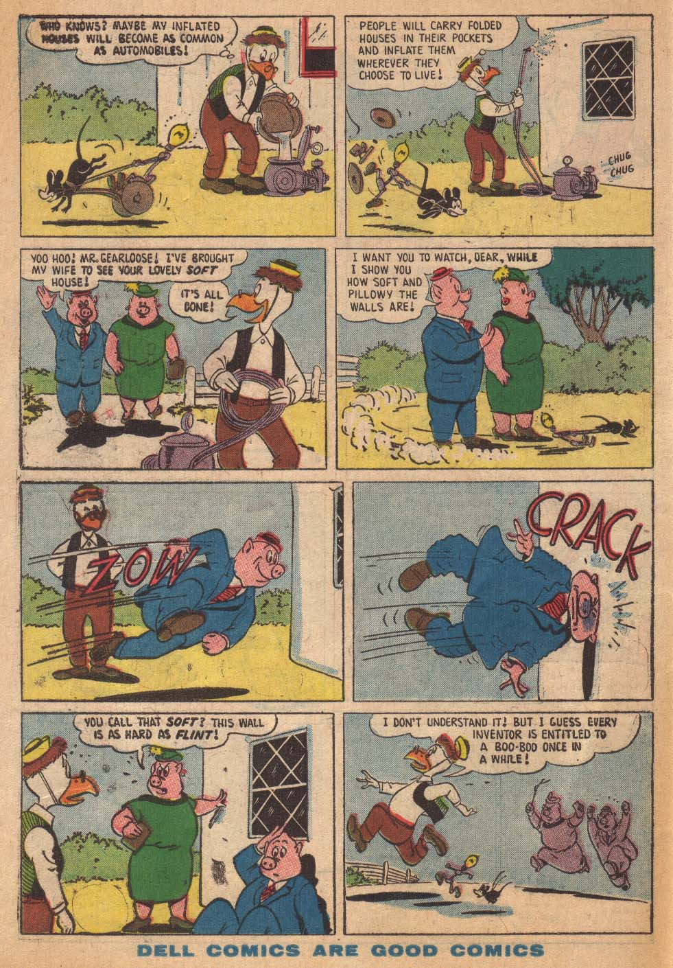 Read online Uncle Scrooge (1953) comic -  Issue #19 - 34