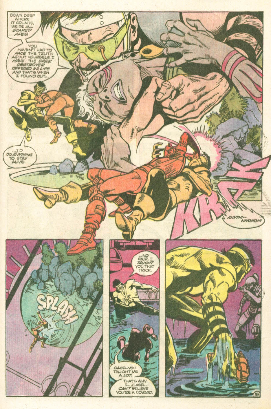 Read online Atari Force (1984) comic -  Issue #11 - 20