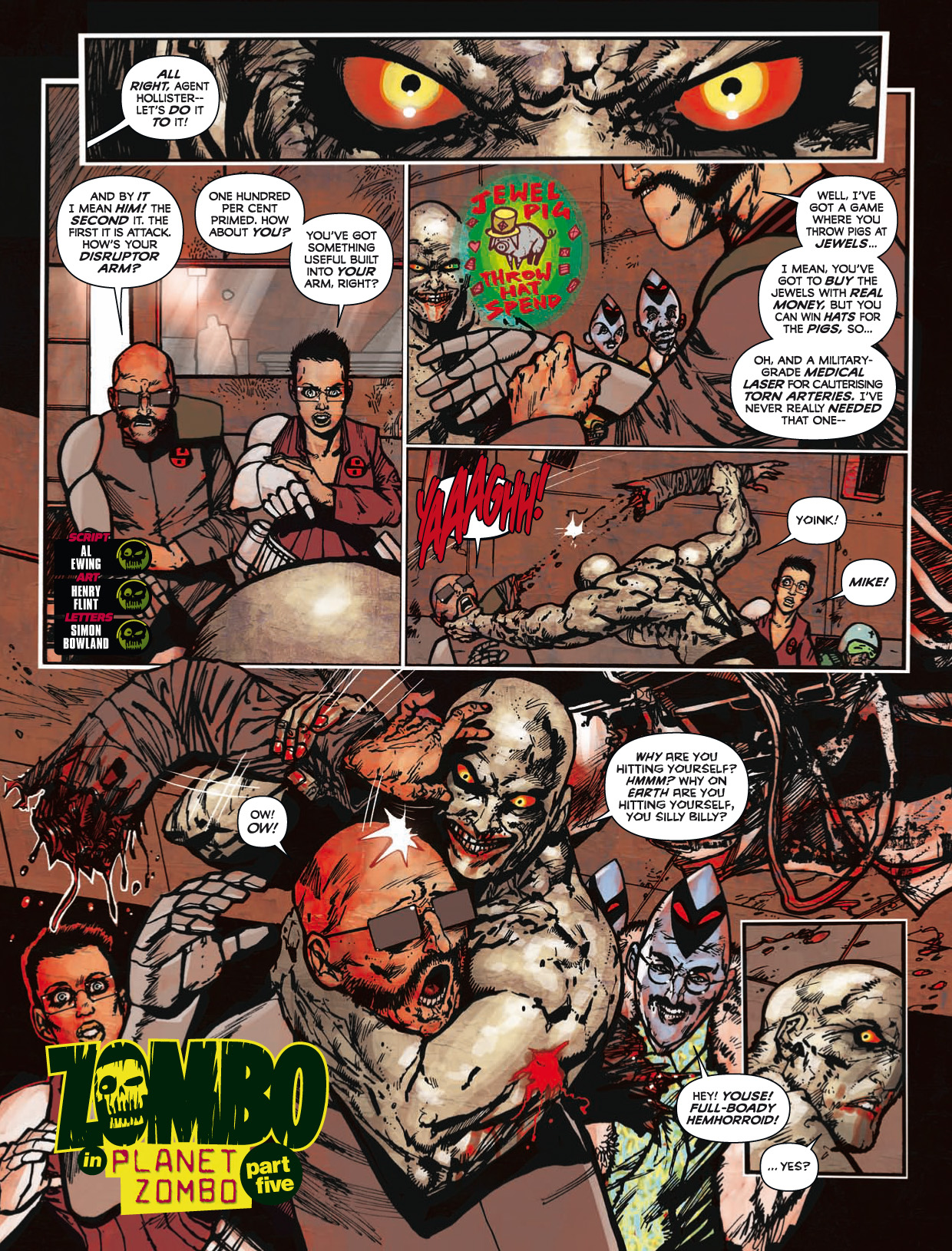 Read online 2000 AD comic -  Issue #1746 - 161