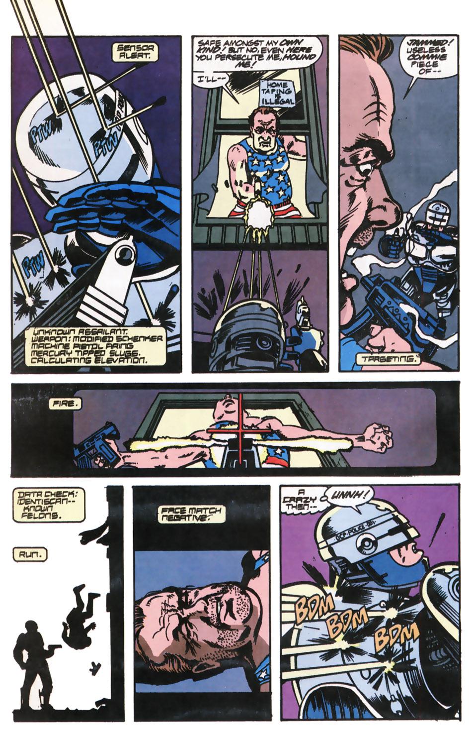 Read online Robocop (1990) comic -  Issue #12 - 17