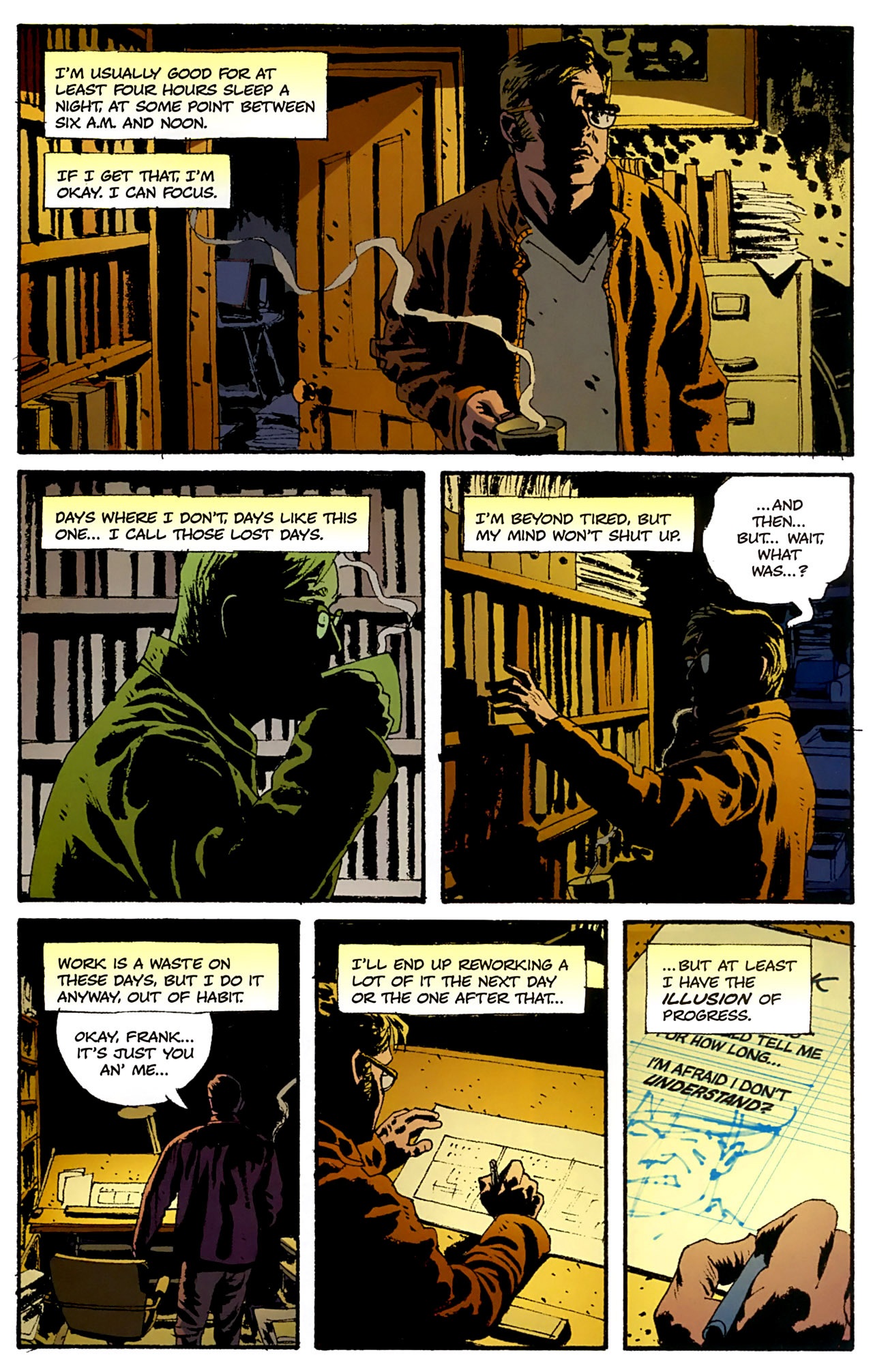 Read online Criminal (2008) comic -  Issue #4 - 5