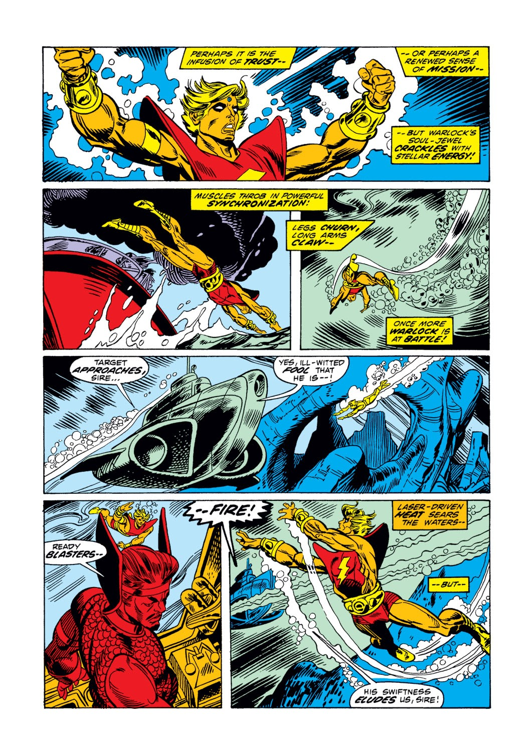 Warlock (1972) issue 3 - Page 9