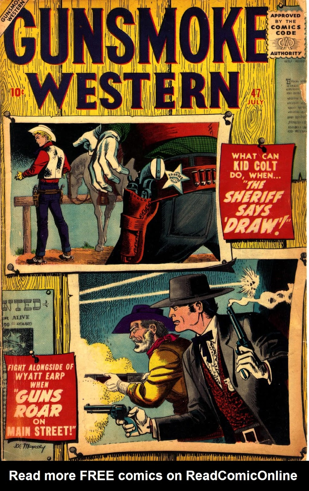 Gunsmoke Western issue 47 - Page 1