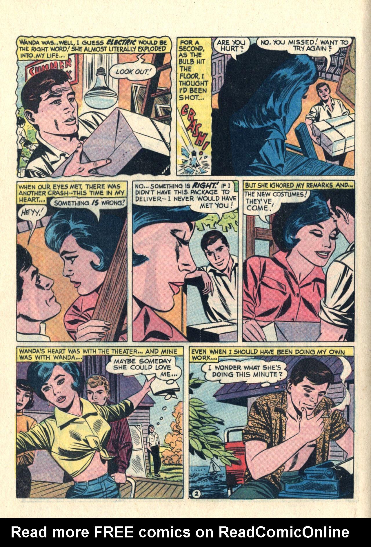 Read online Secret Hearts comic -  Issue #113 - 12