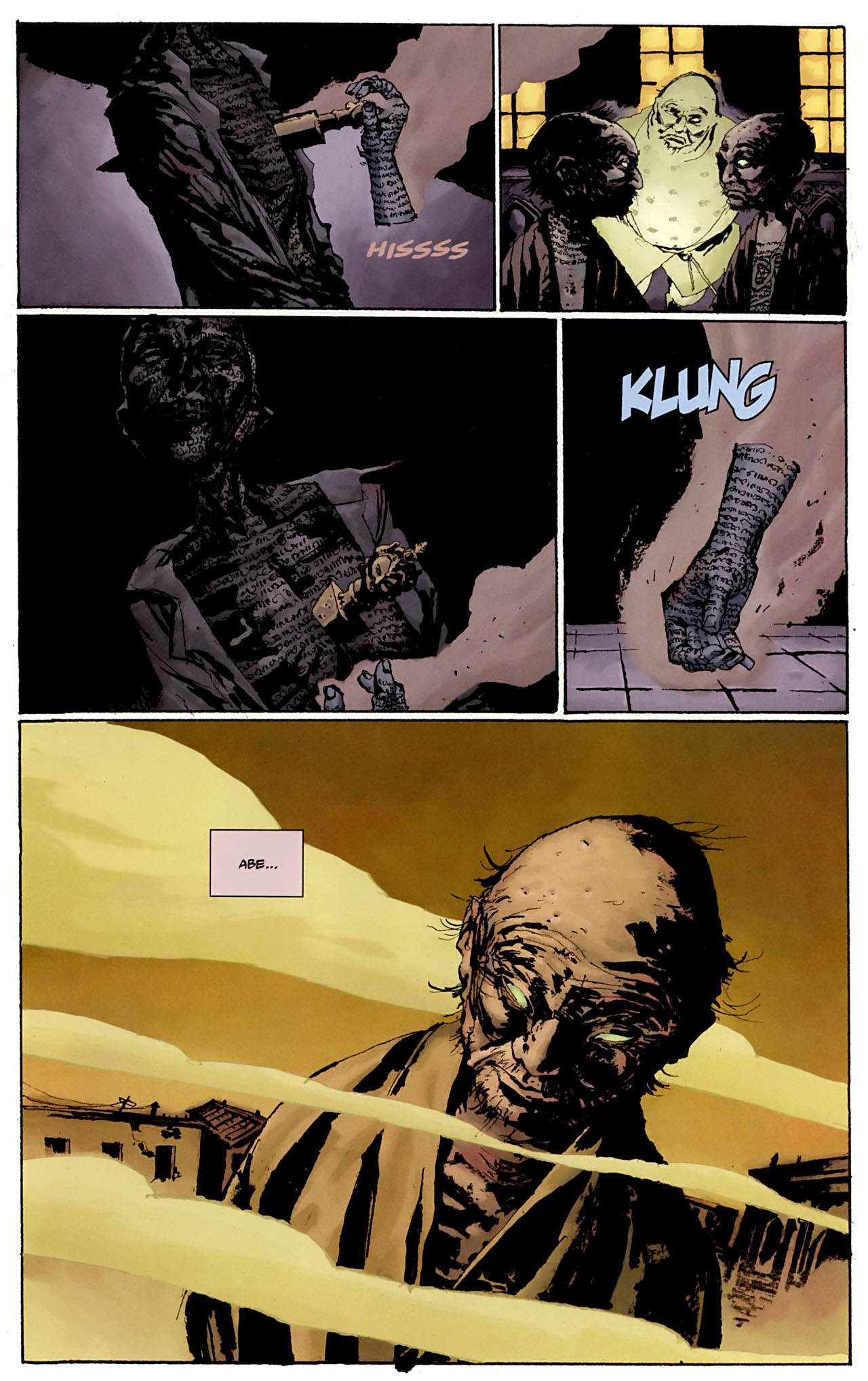 Read online Abe Sapien: The Drowning comic -  Issue #3 - 9