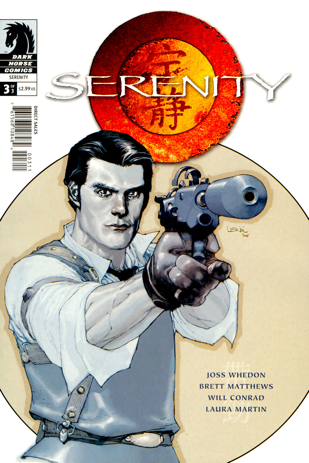 Read online Serenity comic -  Issue #3 - 3