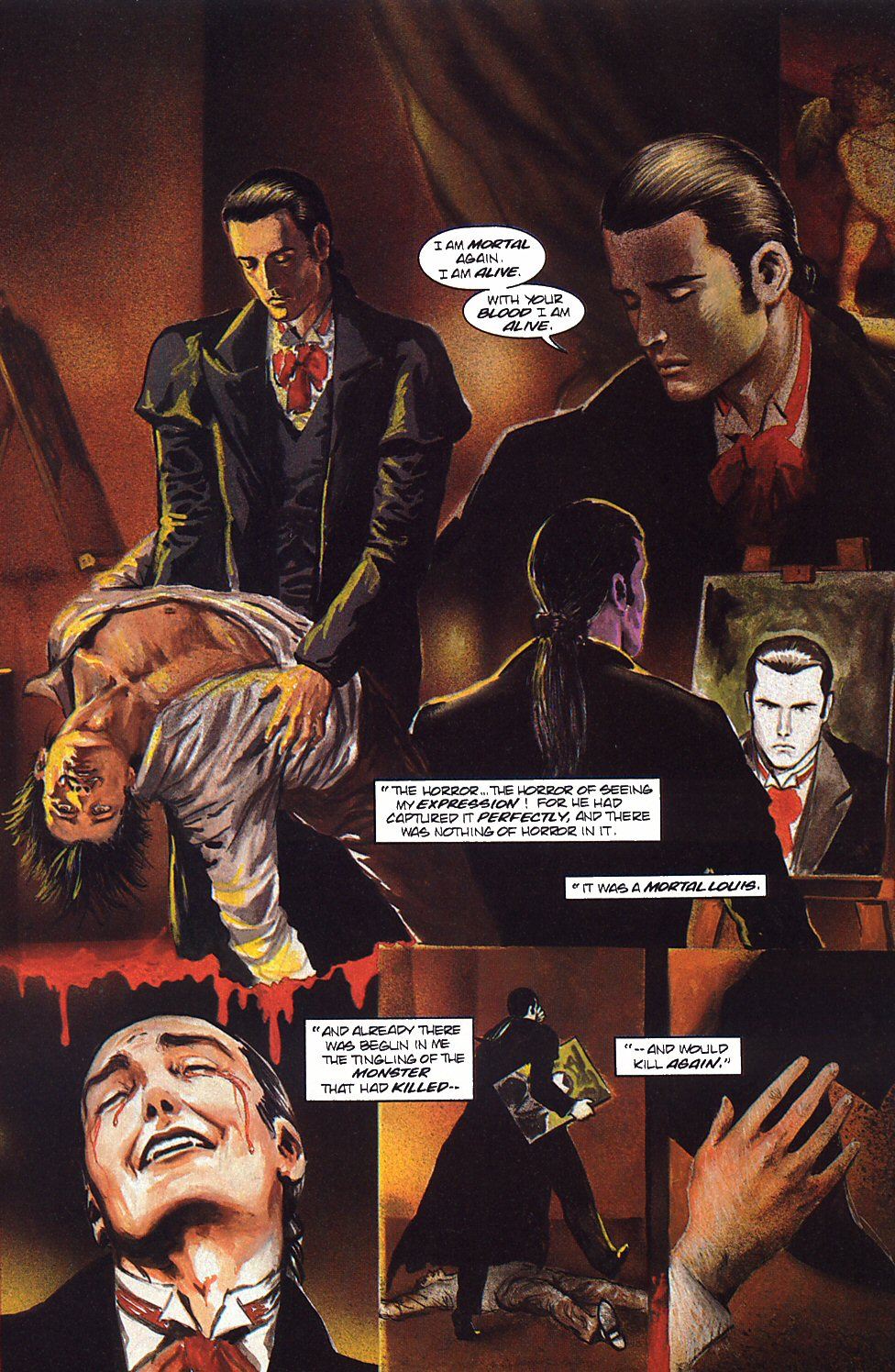 Read online Anne Rice's Interview with the Vampire comic -  Issue #9 - 16