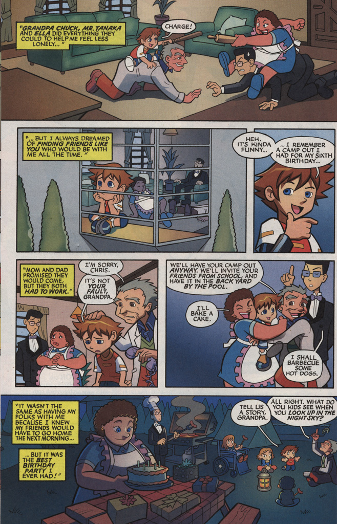 Read online Sonic X comic -  Issue #5 - 8