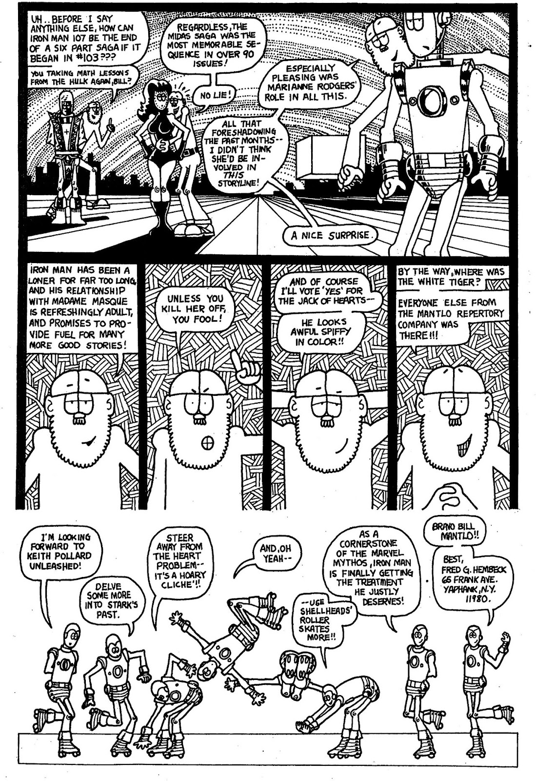 Read online The Nearly Complete Essential Hembeck Archives Omnibus comic -  Issue # TPB (Part 4) - 14