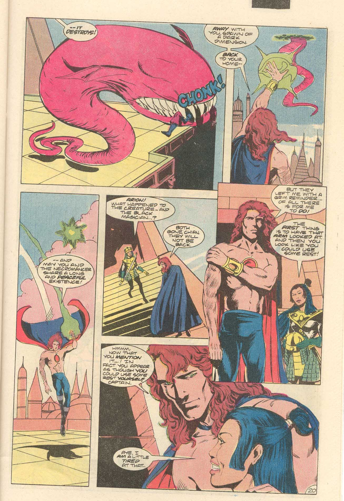 Read online Arion, Lord of Atlantis comic -  Issue #35 - 21