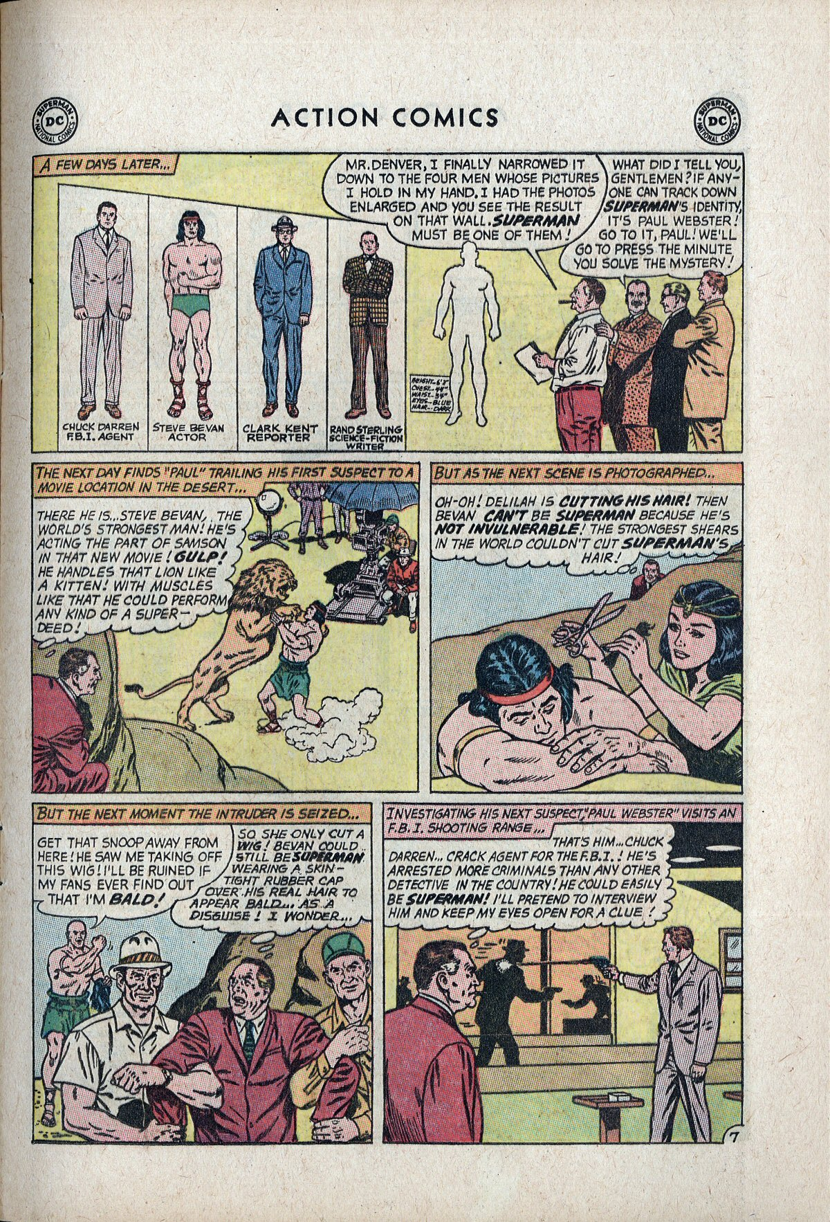 Read online Action Comics (1938) comic -  Issue #297 - 9