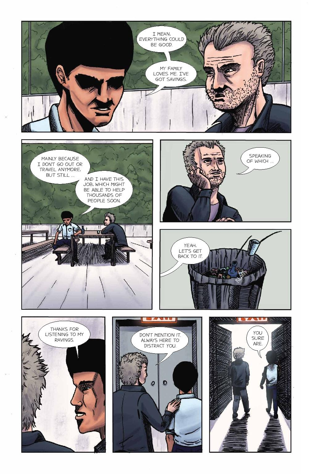 Read online Wolvv comic -  Issue #1 - 12