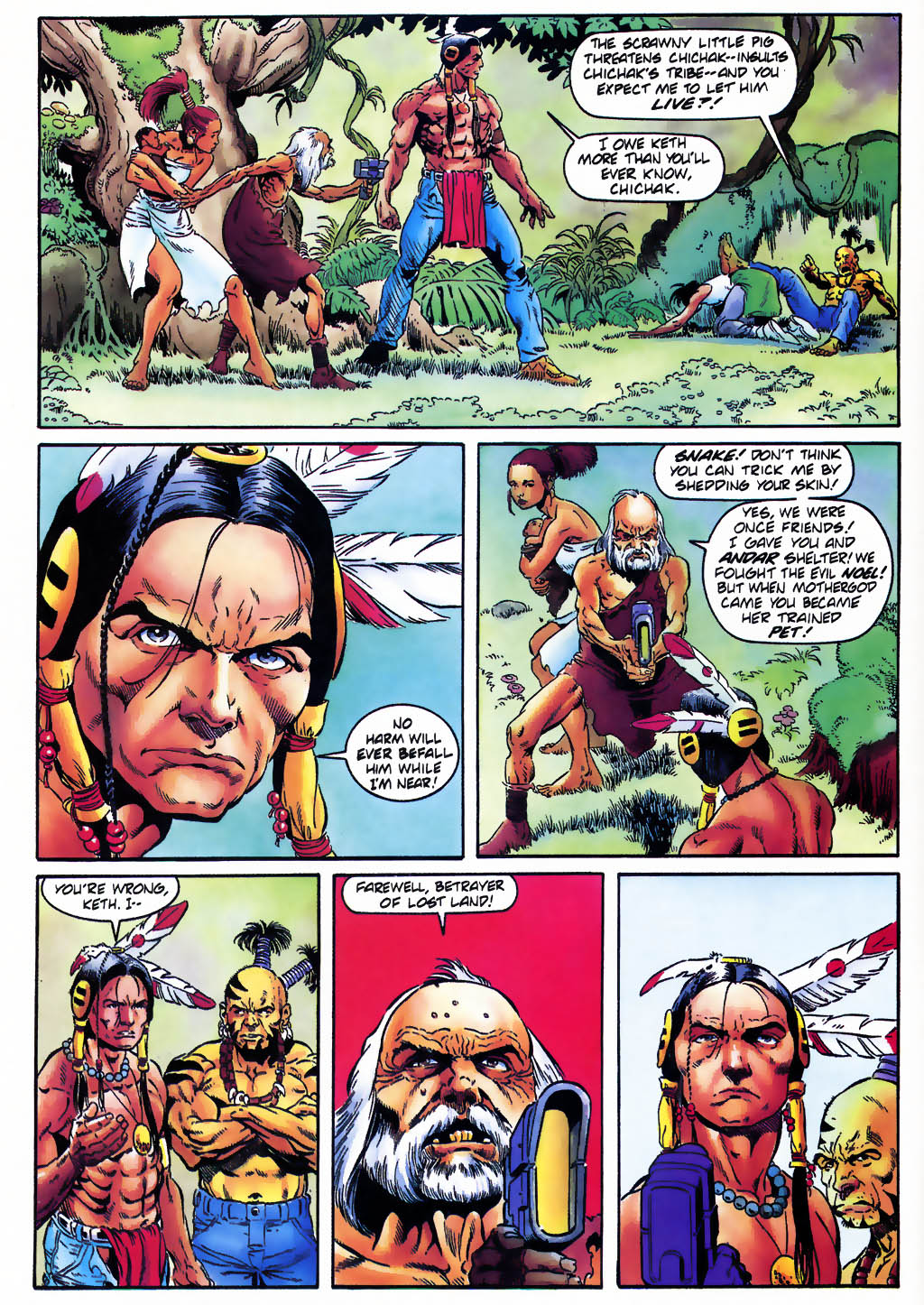 Read online Turok, Dinosaur Hunter (1993) comic -  Issue #25 - 5