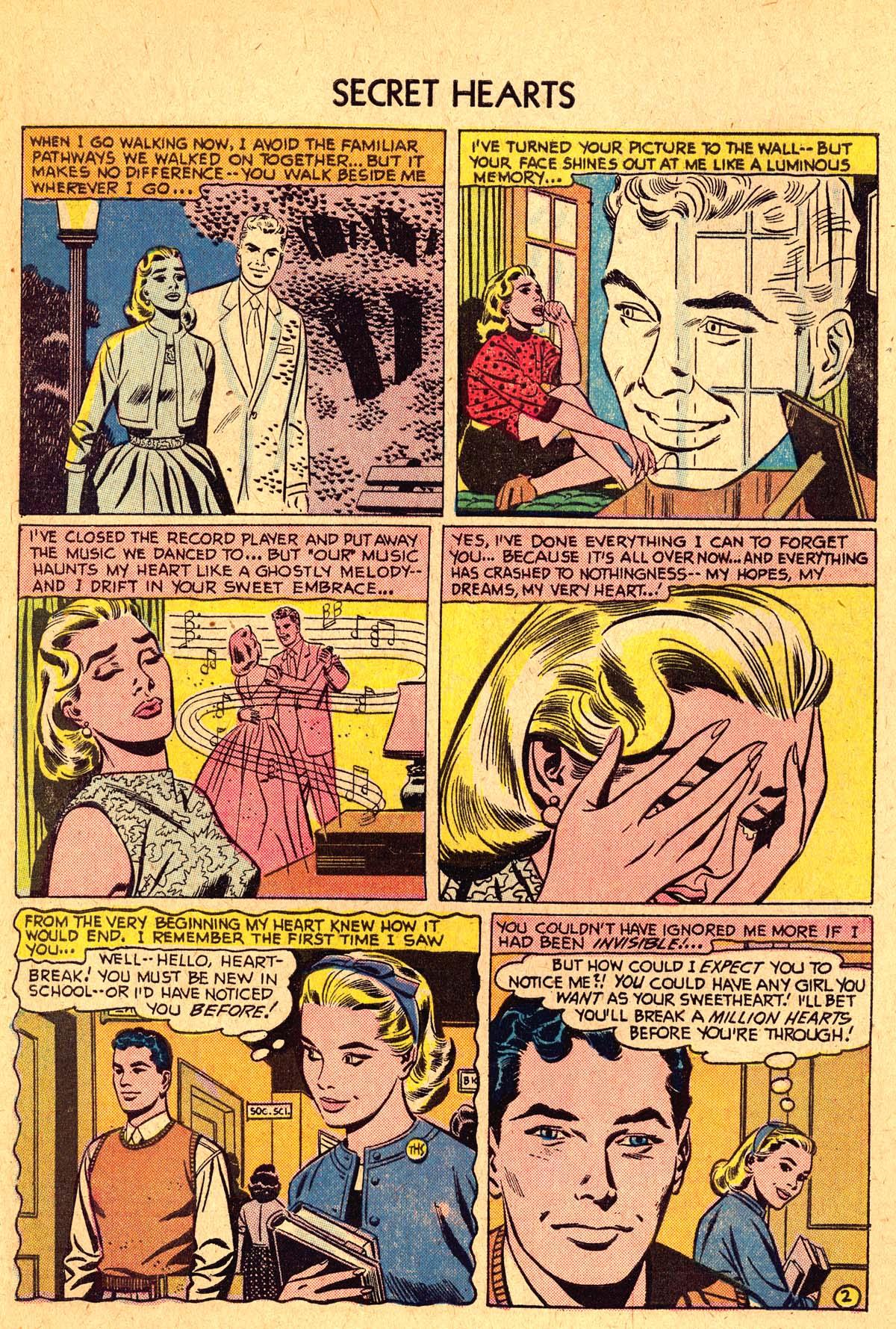 Read online Secret Hearts comic -  Issue #40 - 4