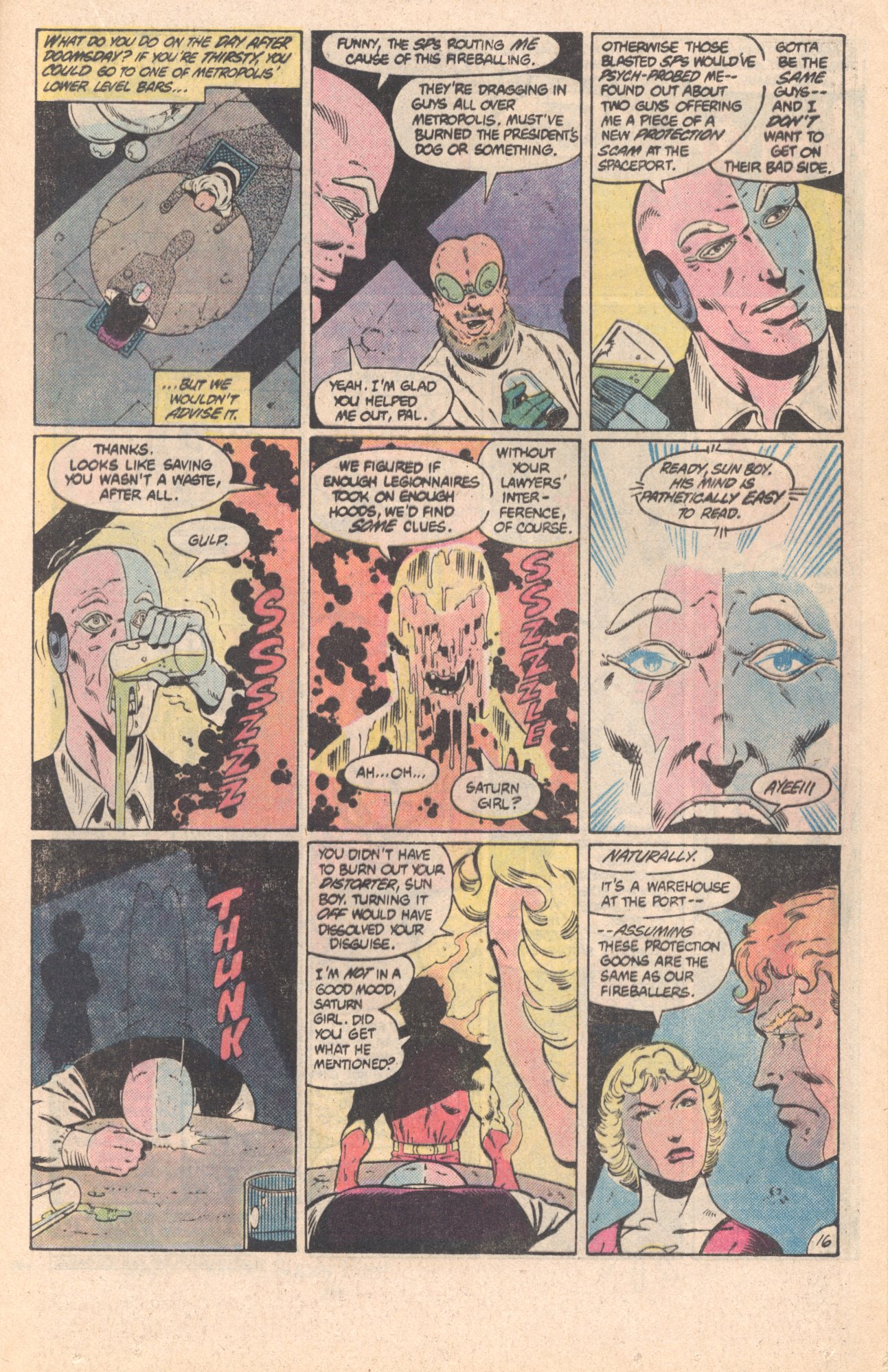 Legion of Super-Heroes (1980) 296 Page 16