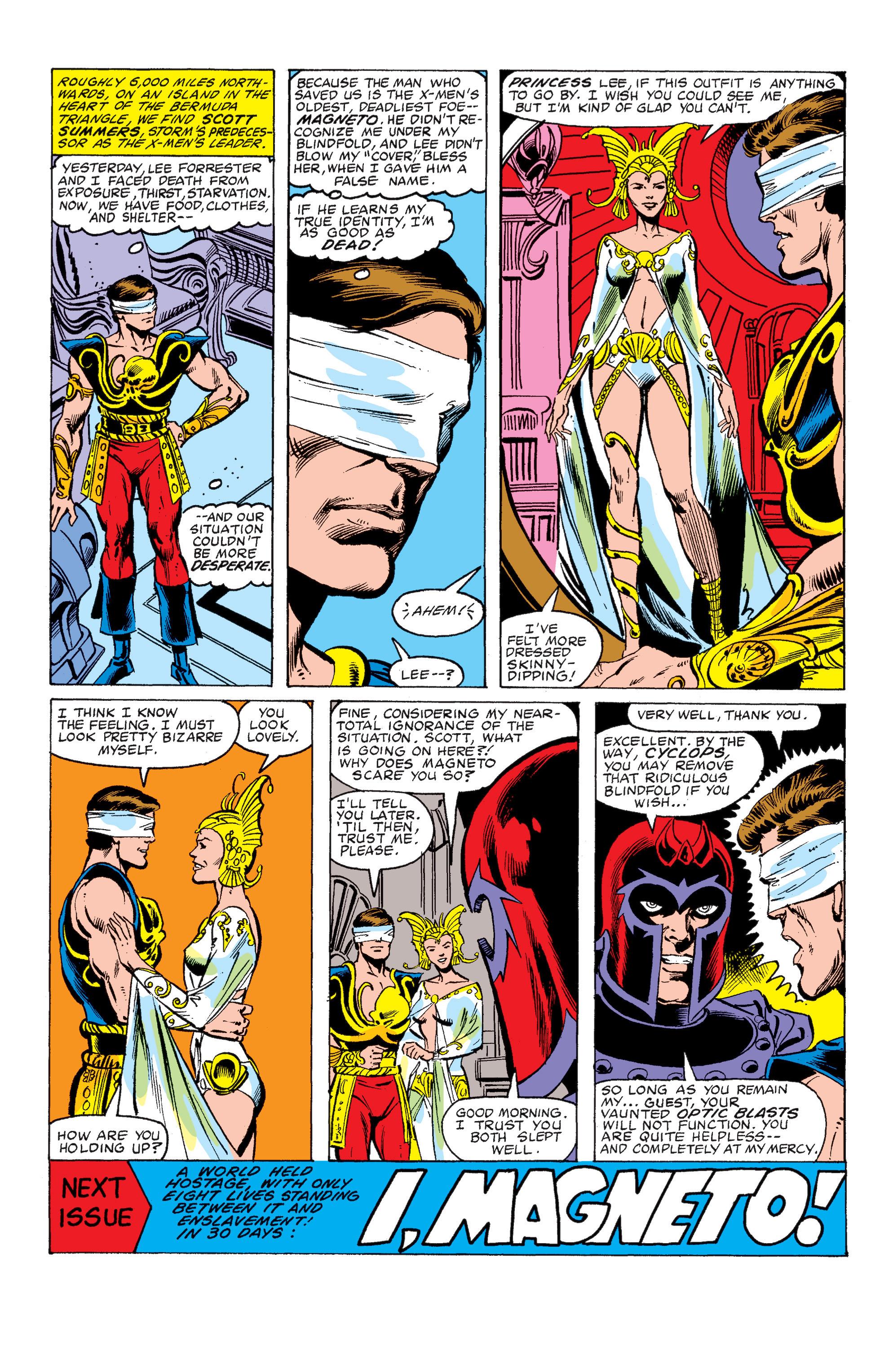 Read online Uncanny X-Men (1963) comic -  Issue #149 - 22