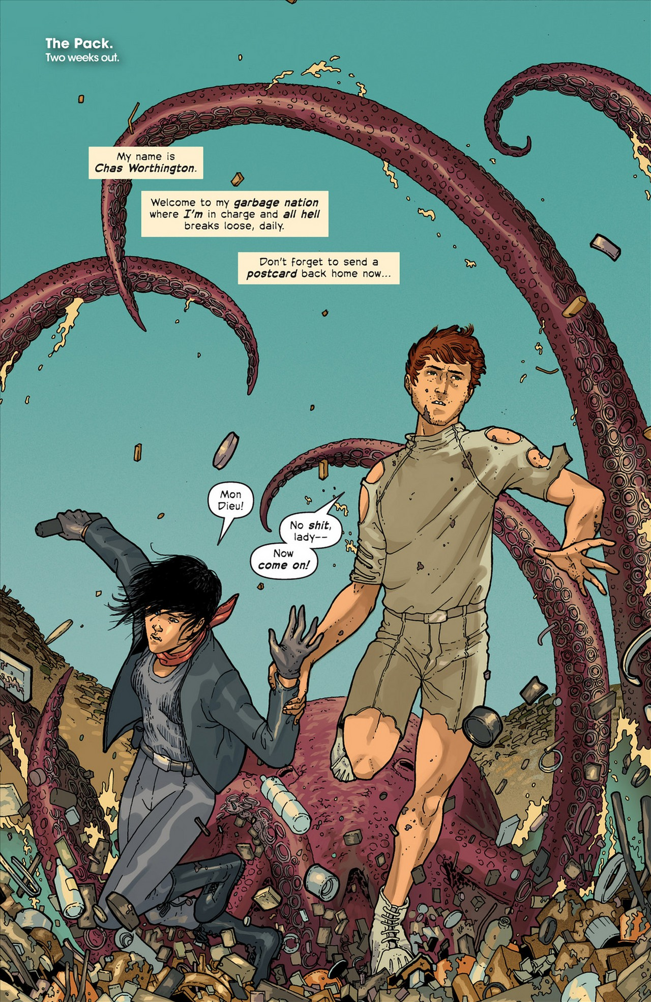 Read online Great Pacific comic -  Issue #4 - 3