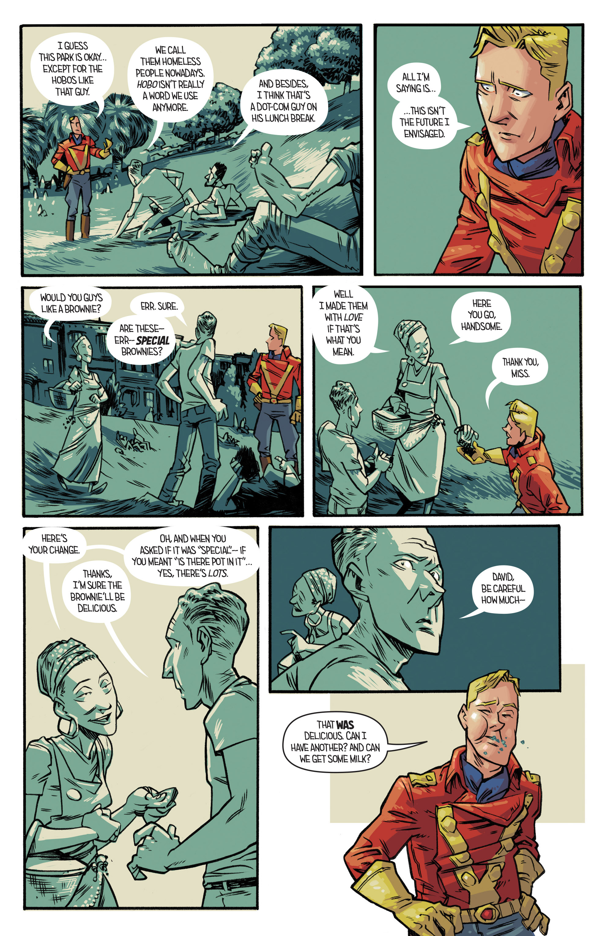 Read online Airboy comic -  Issue #2 - 15