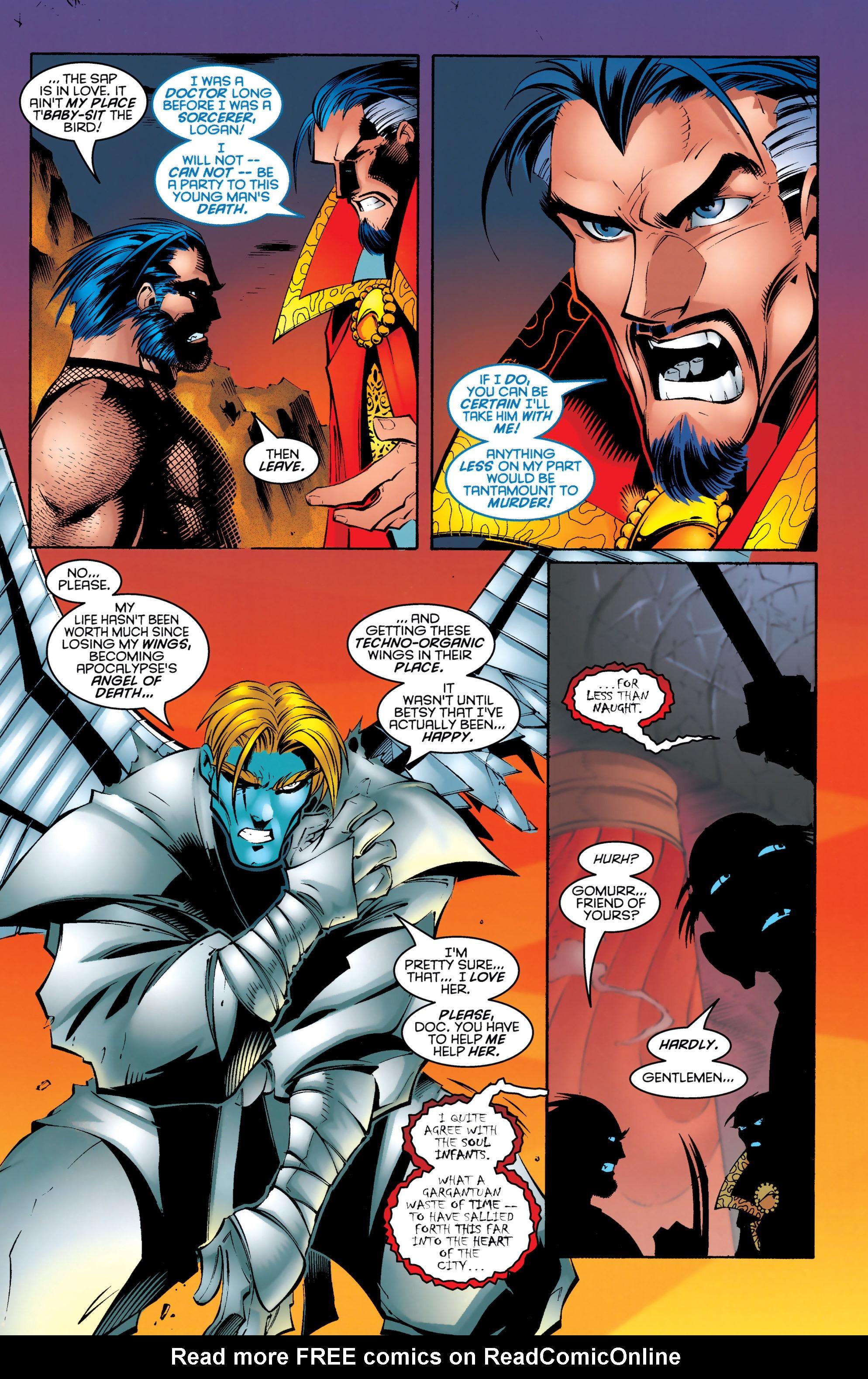 Read online Uncanny X-Men (1963) comic -  Issue #330 - 11
