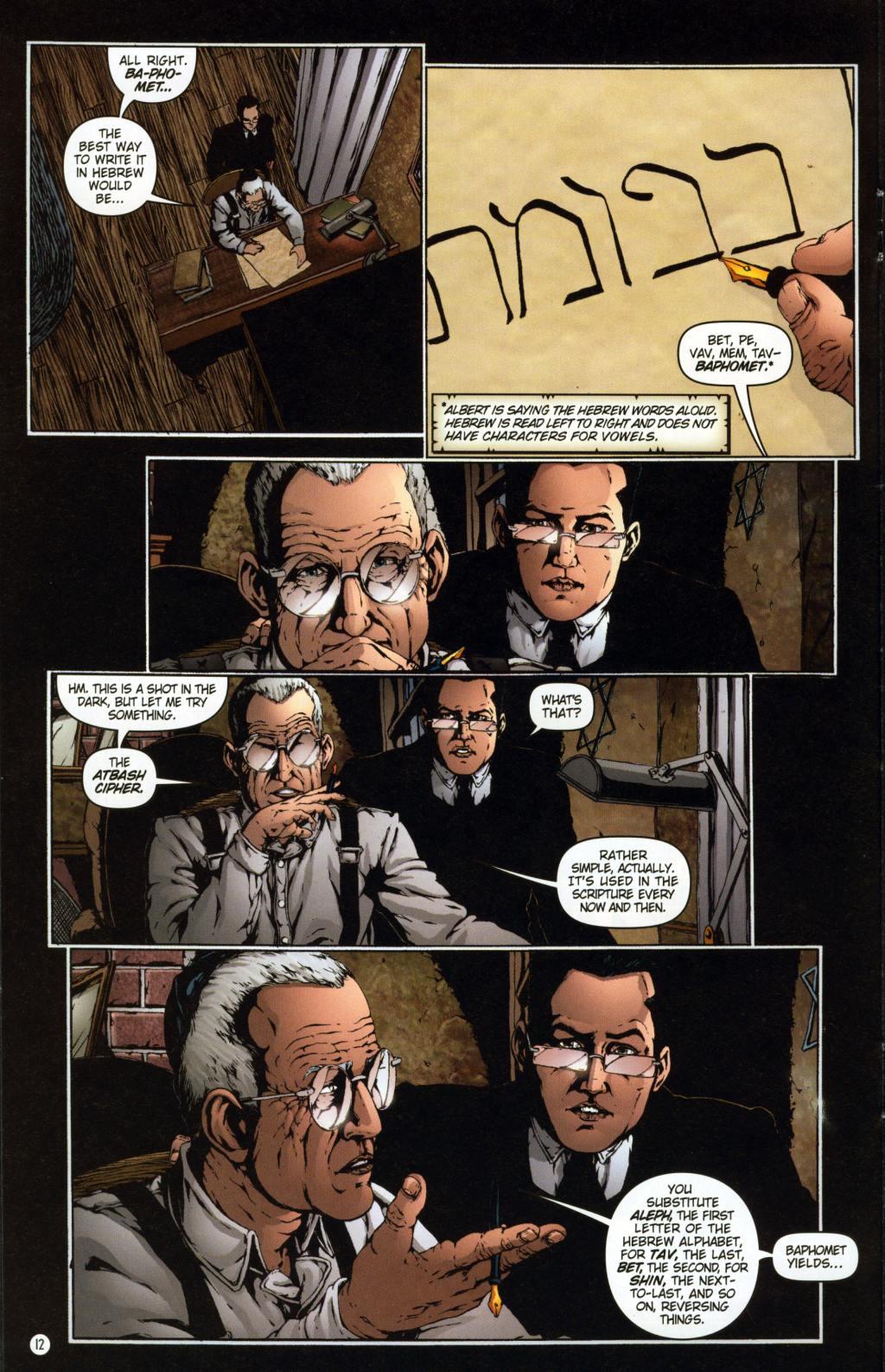Read online Rex Mundi comic -  Issue #7 - 16