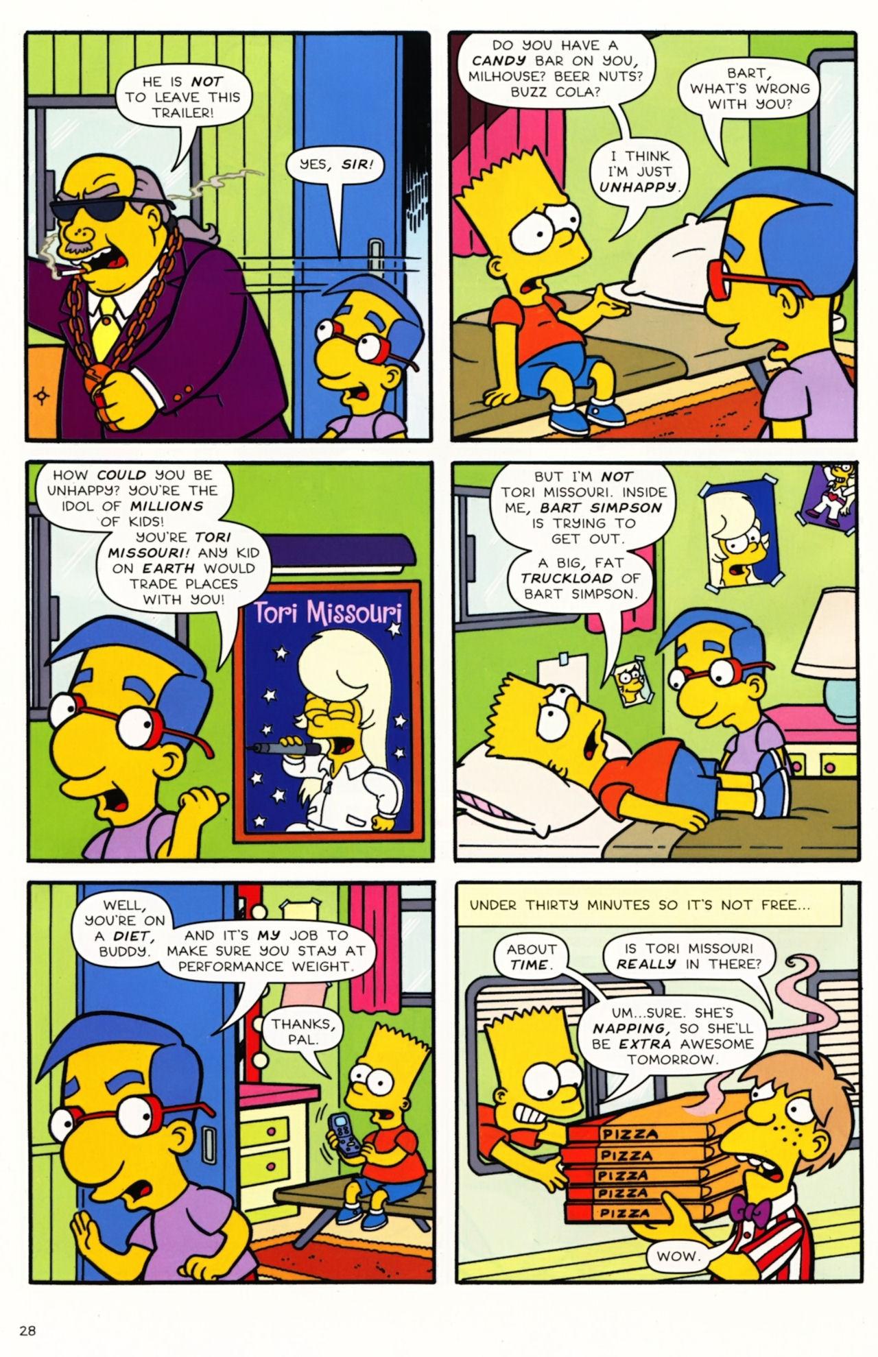 Read online Simpsons Comics comic -  Issue #173 - 22