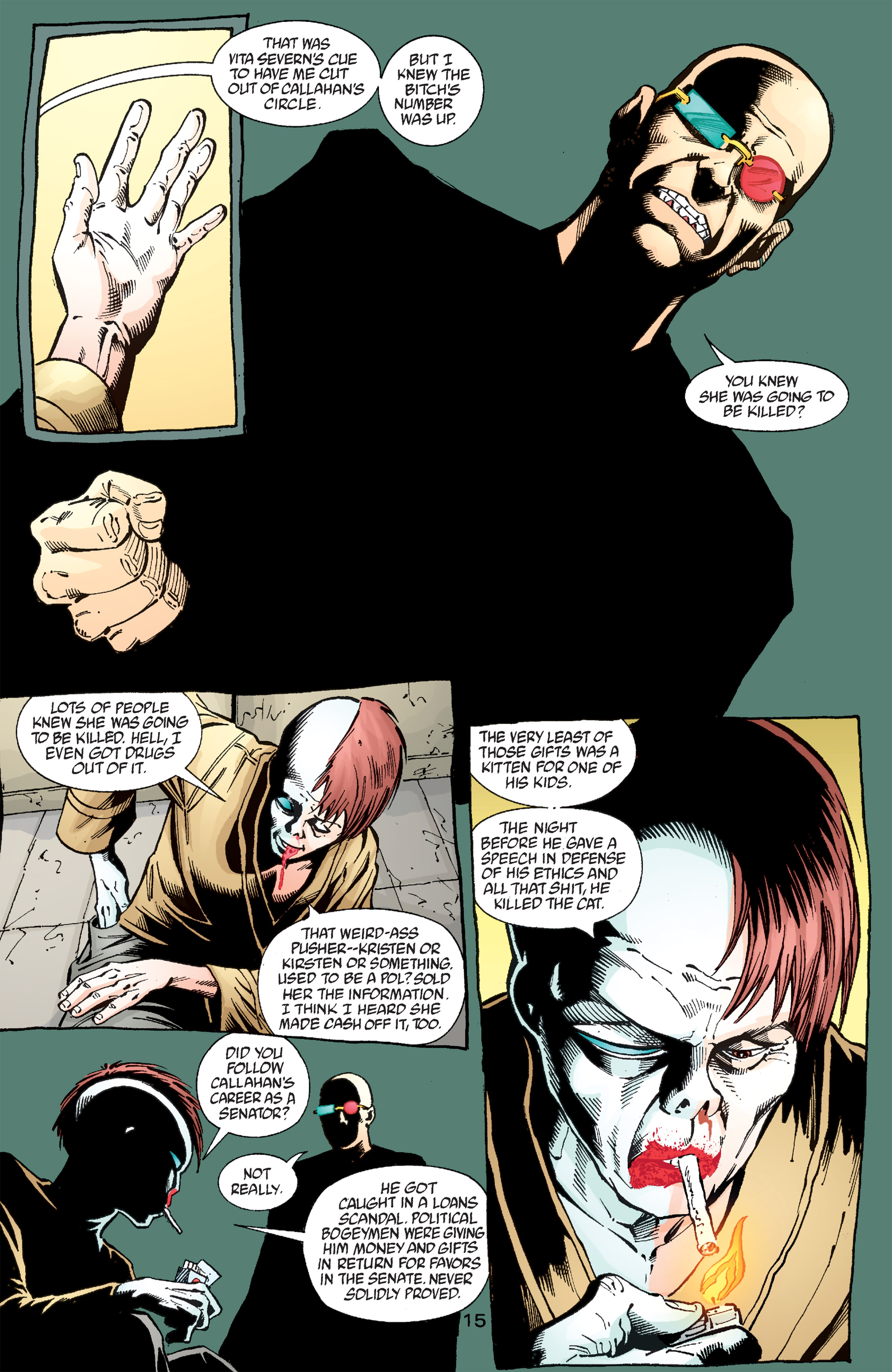 Read online Transmetropolitan comic -  Issue #50 - 16