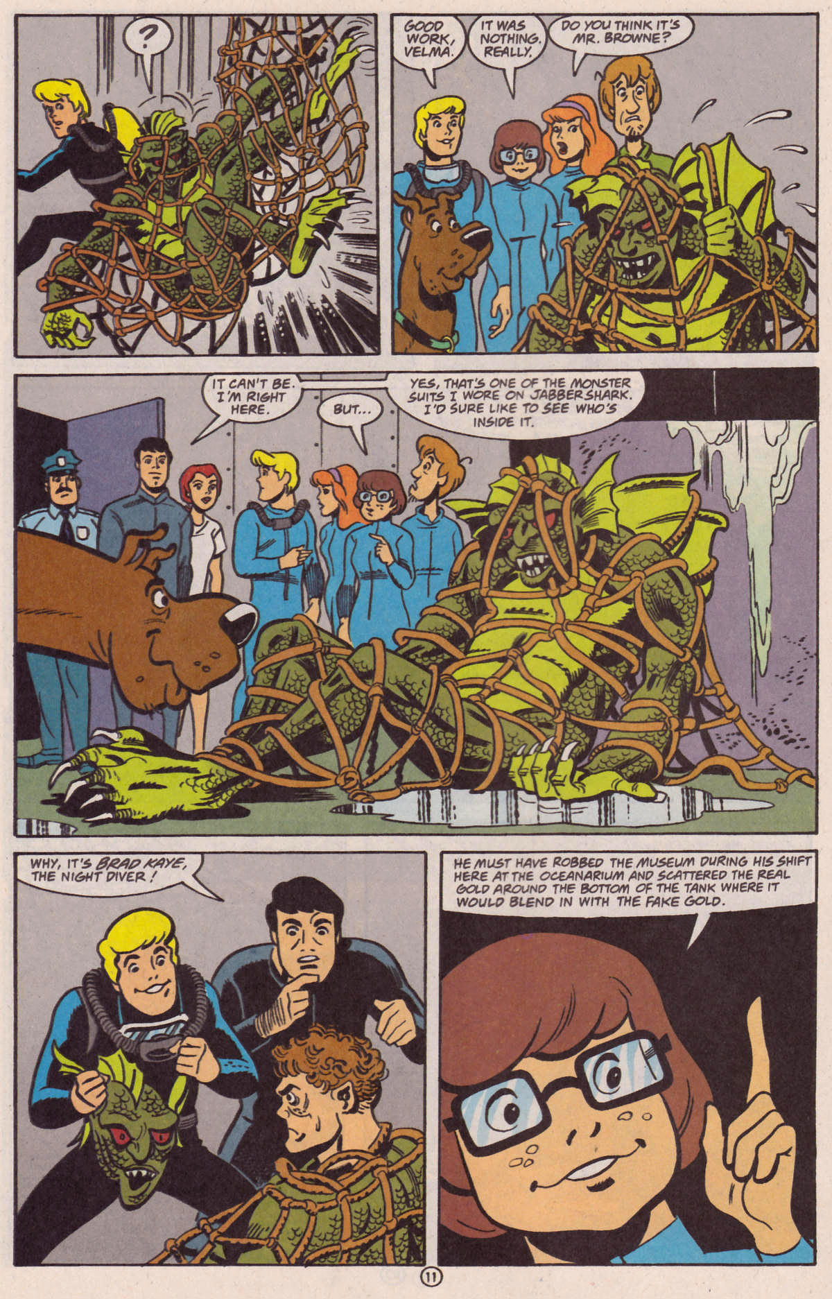 Read online Scooby-Doo (1997) comic -  Issue #29 - 22