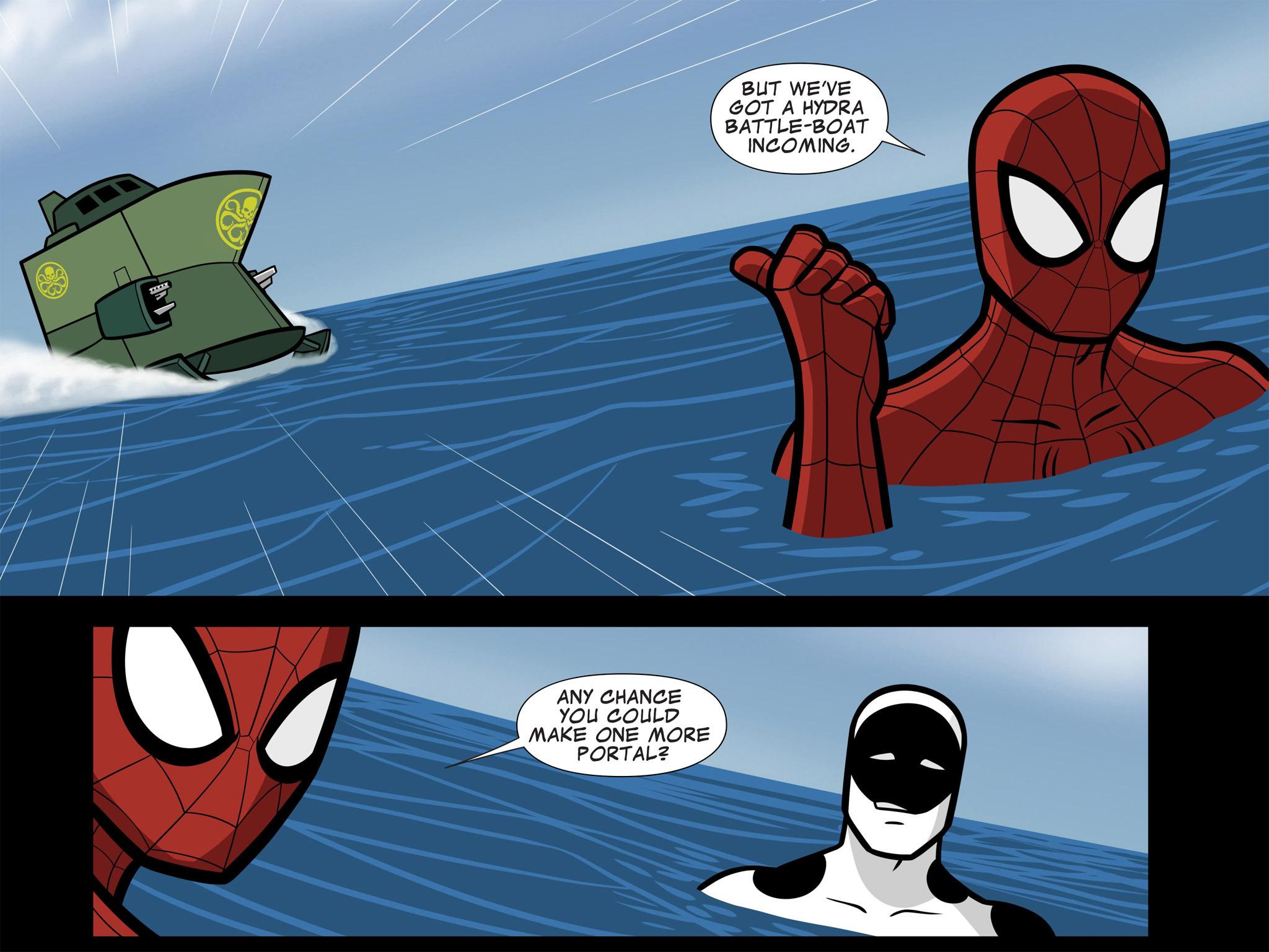 Read online Ultimate Spider-Man (Infinite Comics) (2015) comic -  Issue #11 - 27