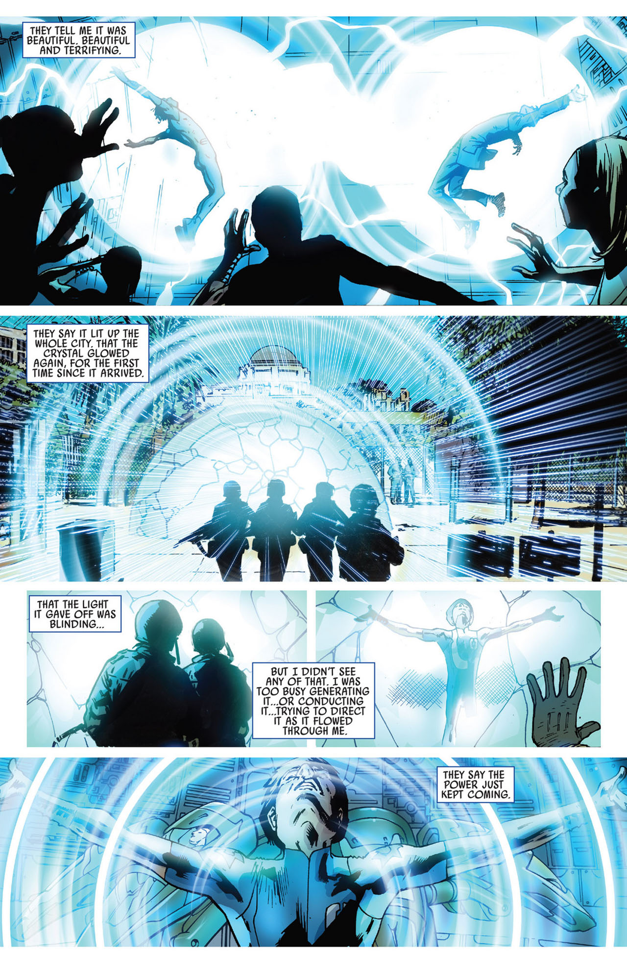 Read online America's Got Powers comic -  Issue #5 - 20