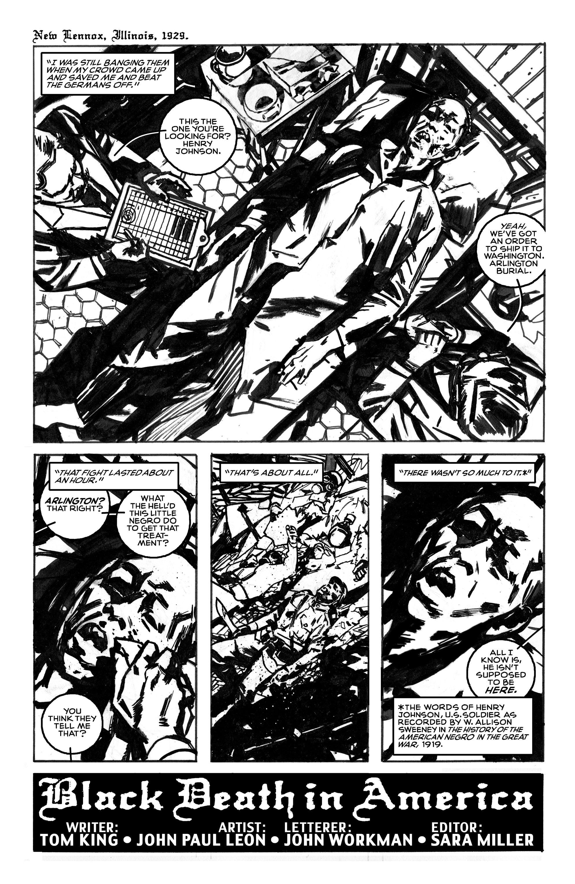 Read online Black Death in America comic -  Issue # Full - 9