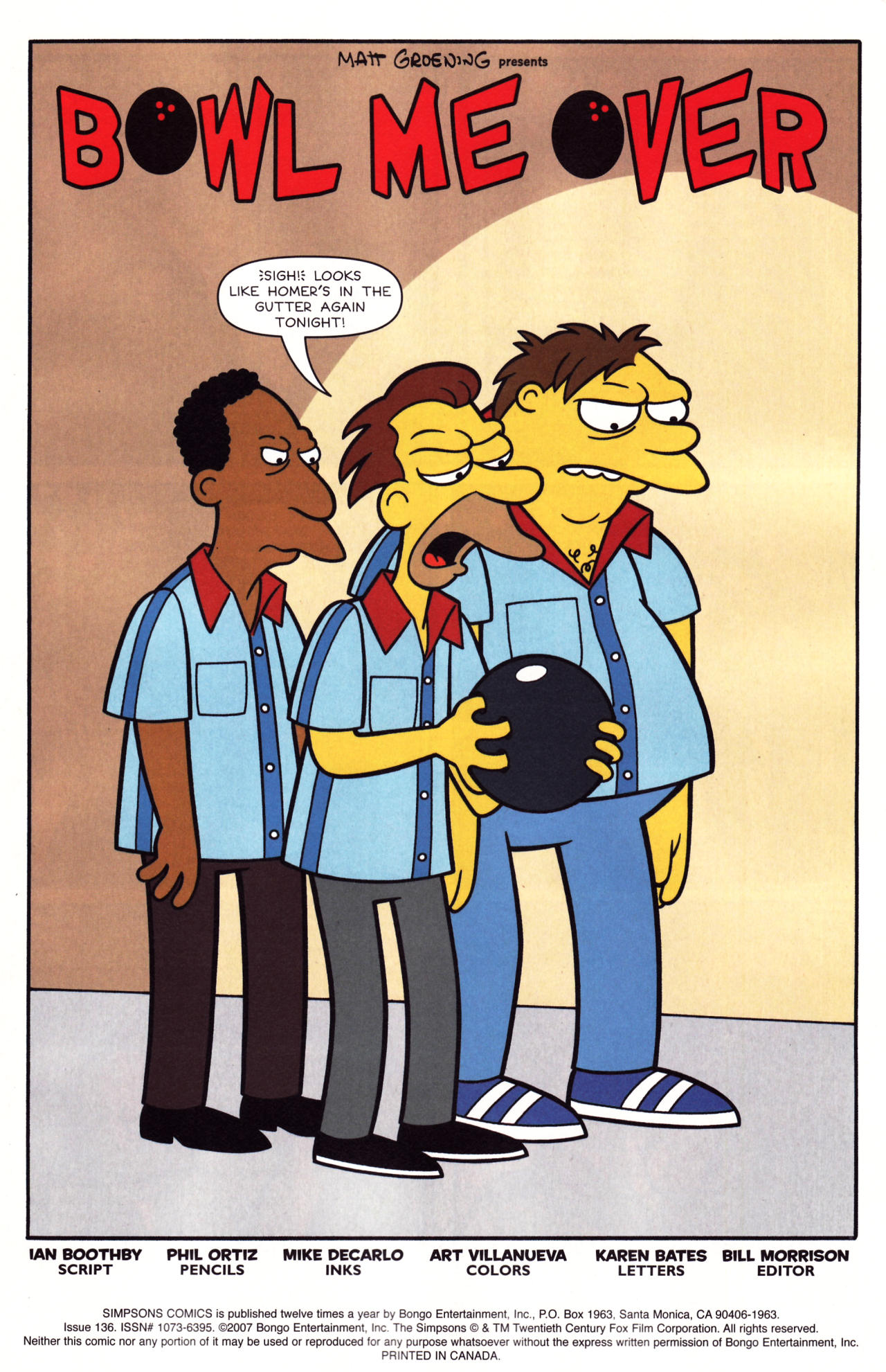 Read online Simpsons Comics comic -  Issue #136 - 2