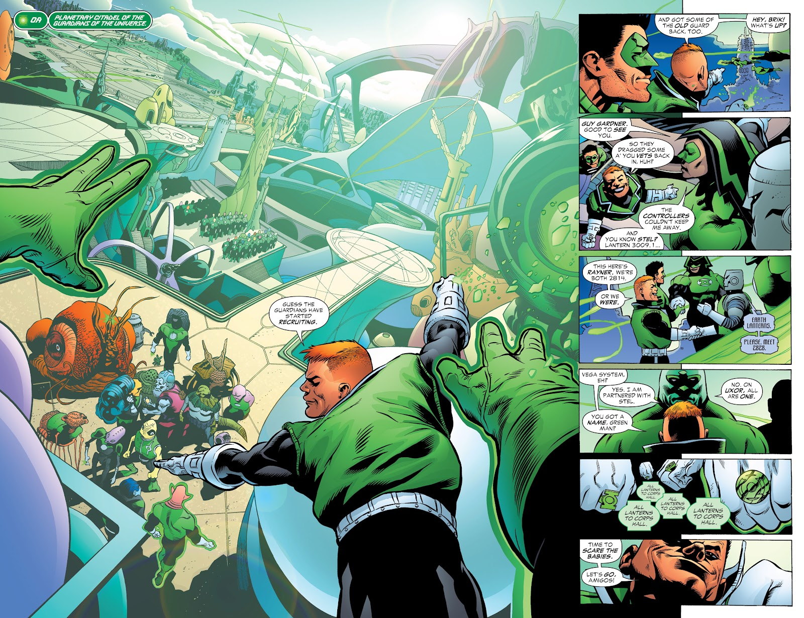 Read online Green Lantern by Geoff Johns comic -  Issue # TPB 1 (Part 2) - 93