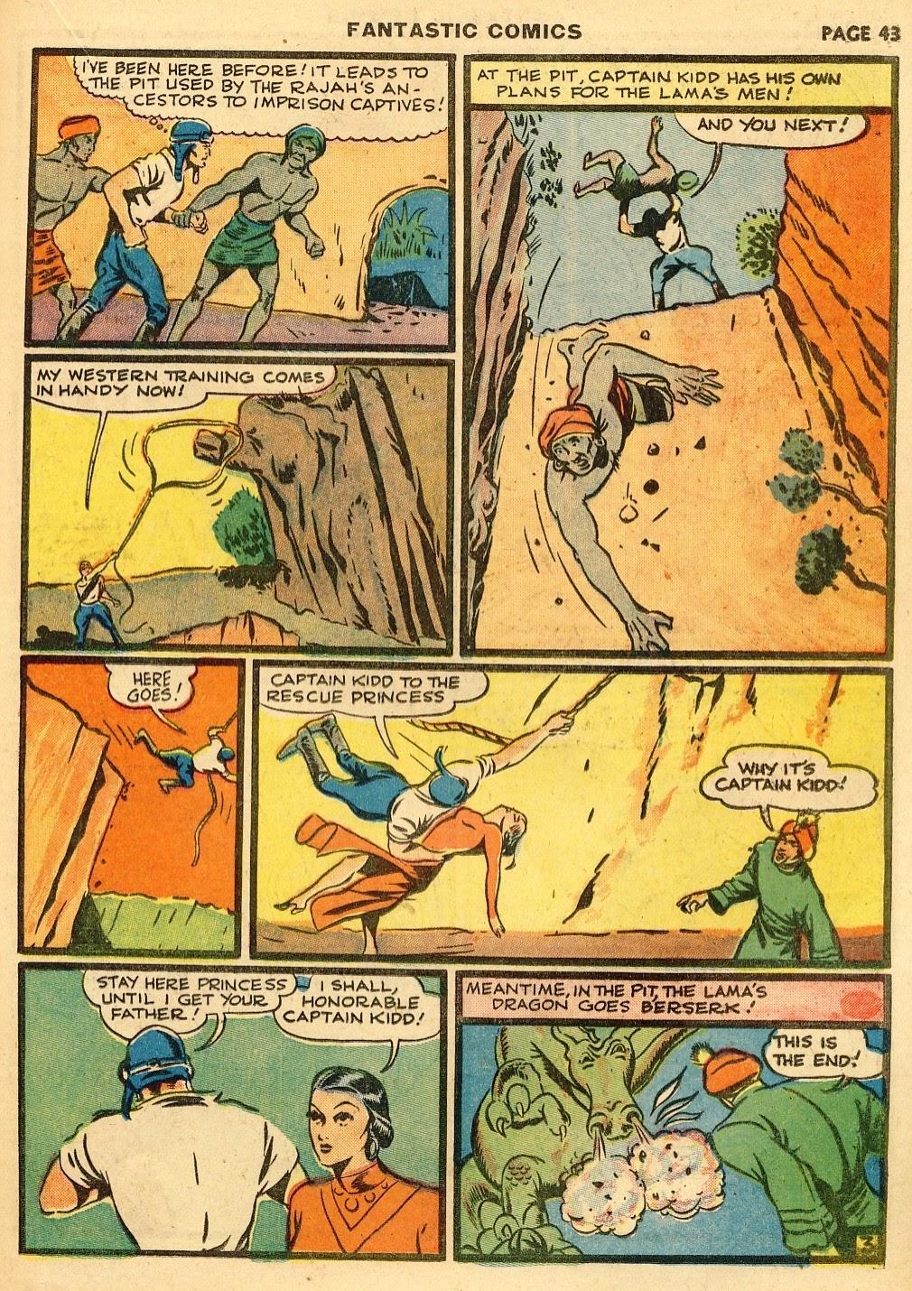 Read online Fantastic Comics comic -  Issue #10 - 44