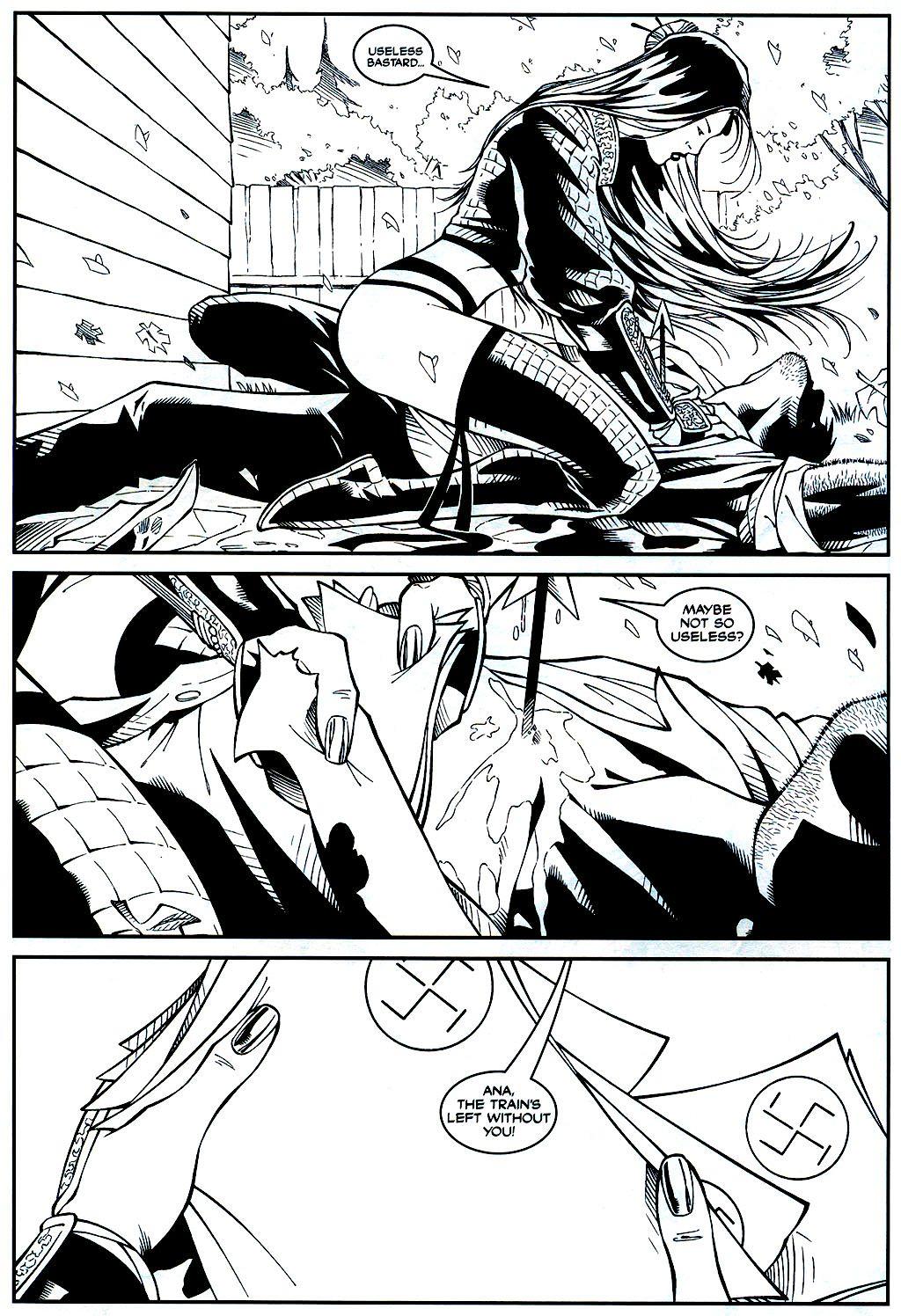 Read online Shi: Sempo comic -  Issue #1 - 13