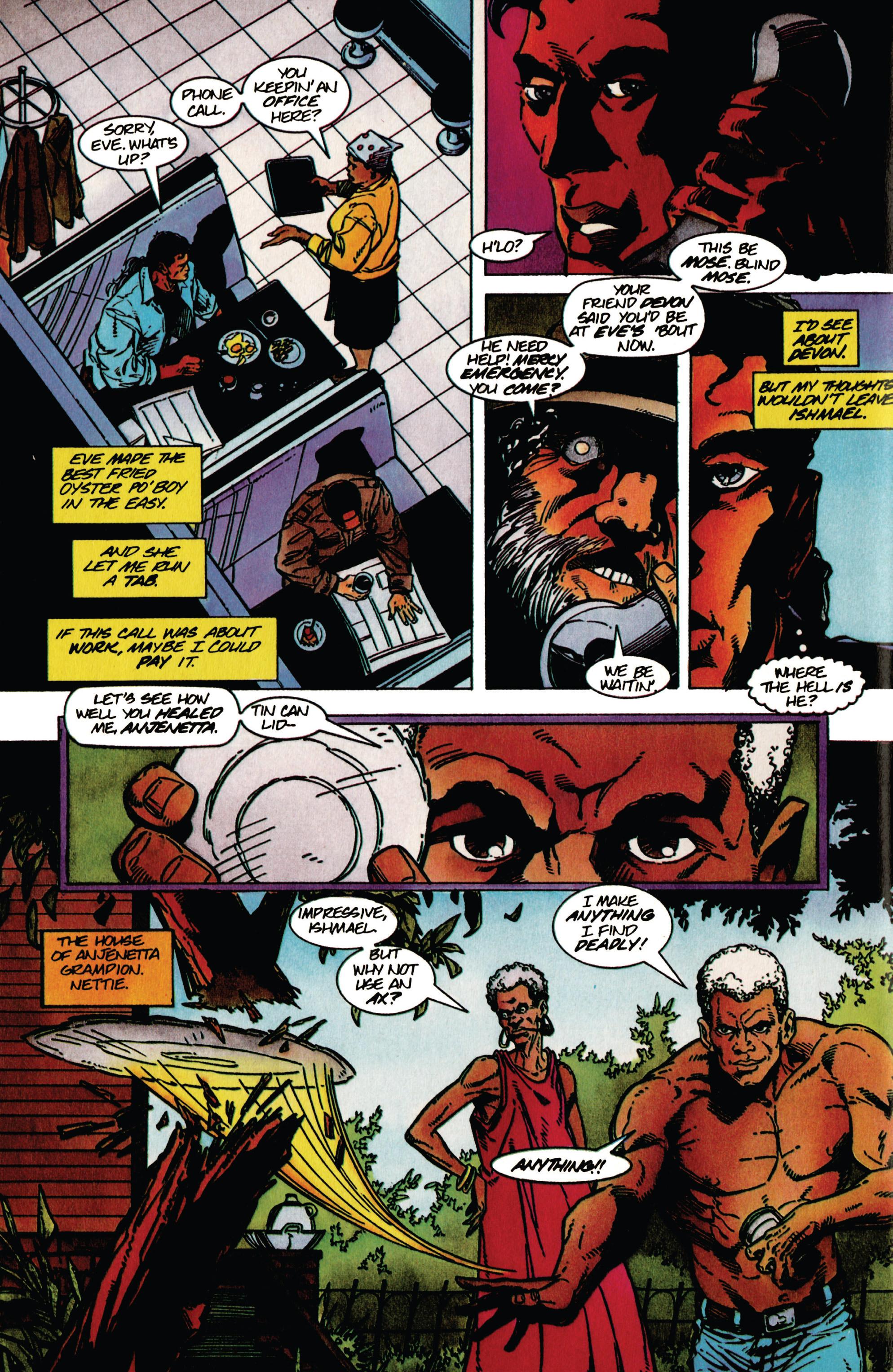 Read online Shadowman (1992) comic -  Issue #39 - 5