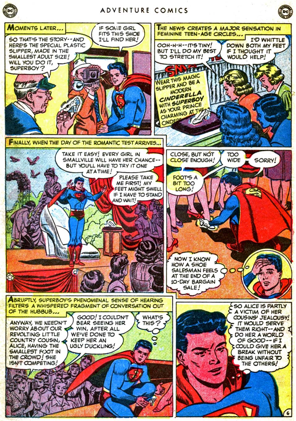 Read online Adventure Comics (1938) comic -  Issue #160 - 8